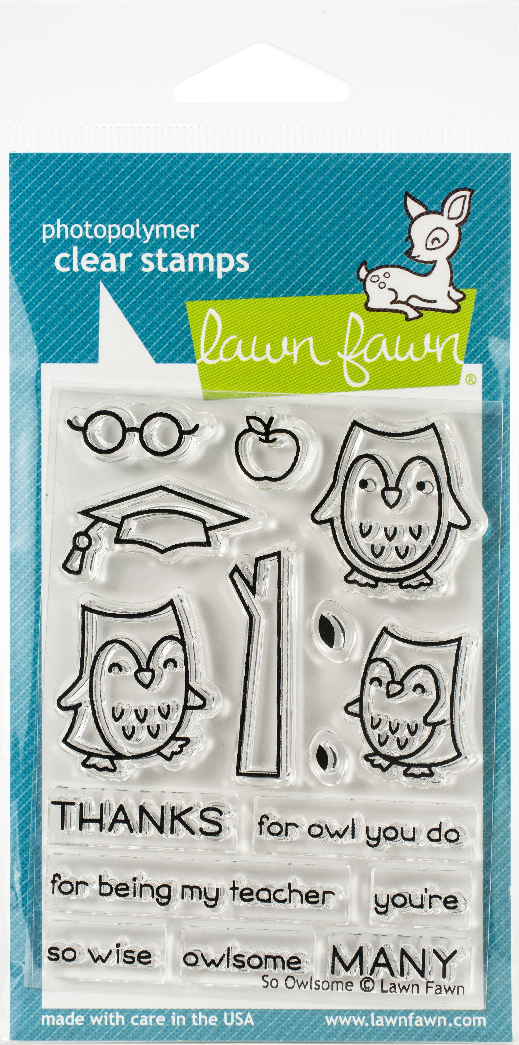 Lawn Fawn So Owlsome Stamp