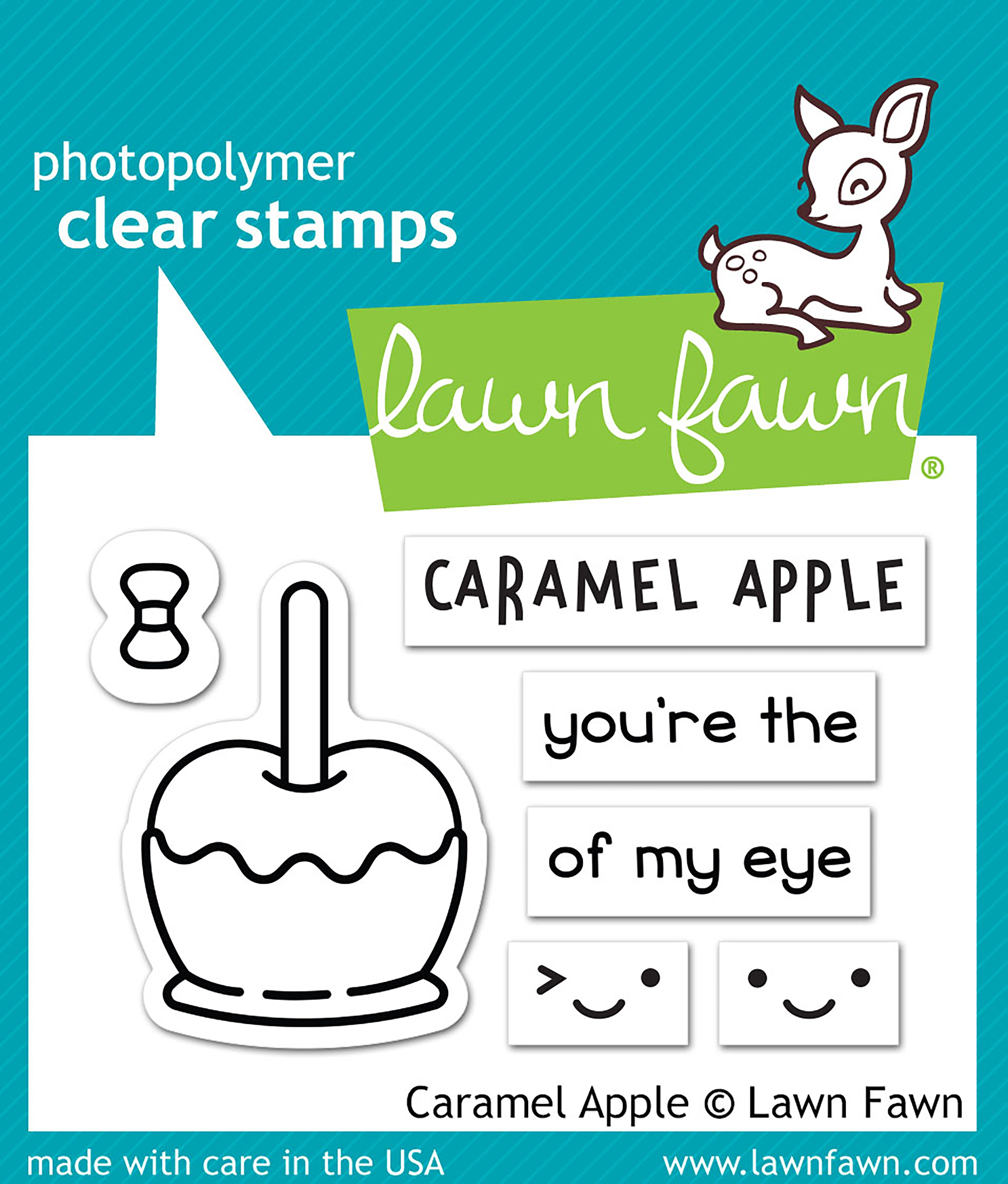 Carmel Apple Stamp