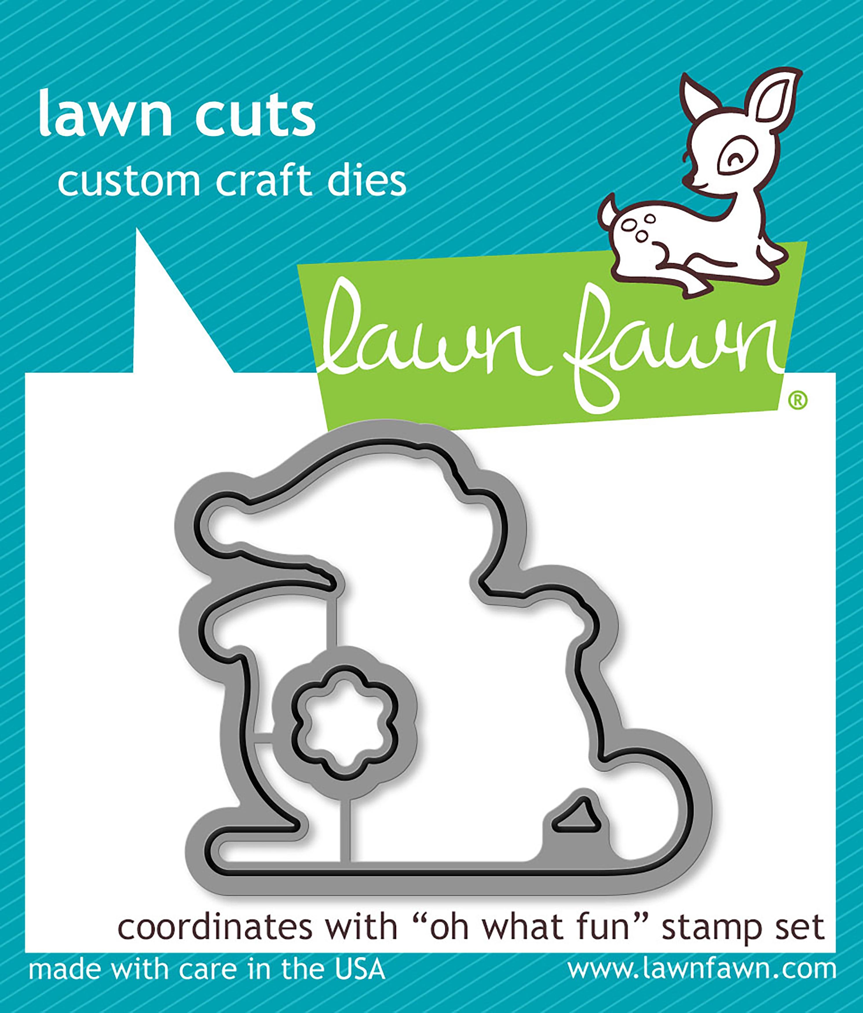 Lawn Cuts Custom Craft Die-Oh What Fun