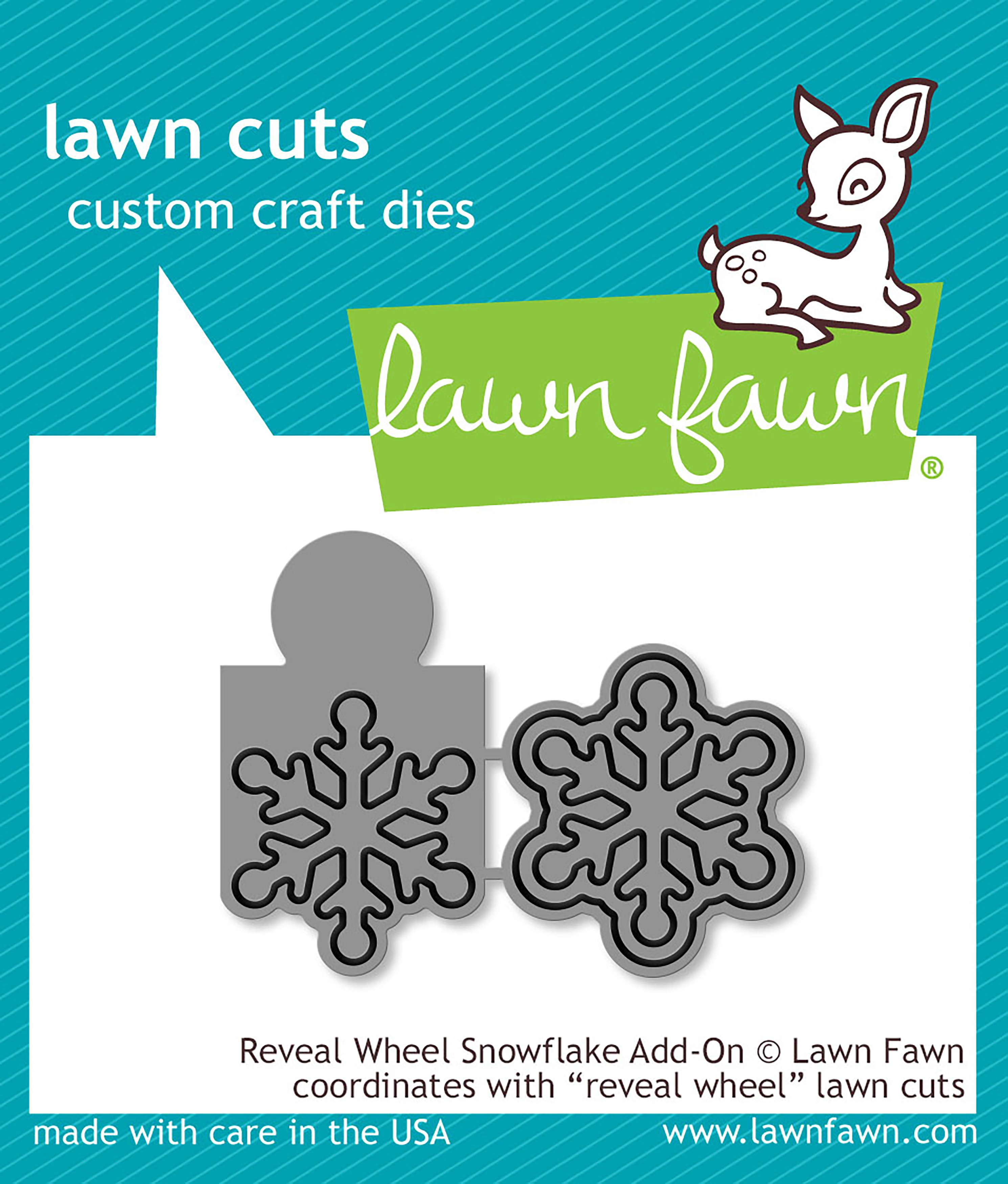 Lawn Cuts Custom Craft Die-Reveal Wheel Snowflake Add-On