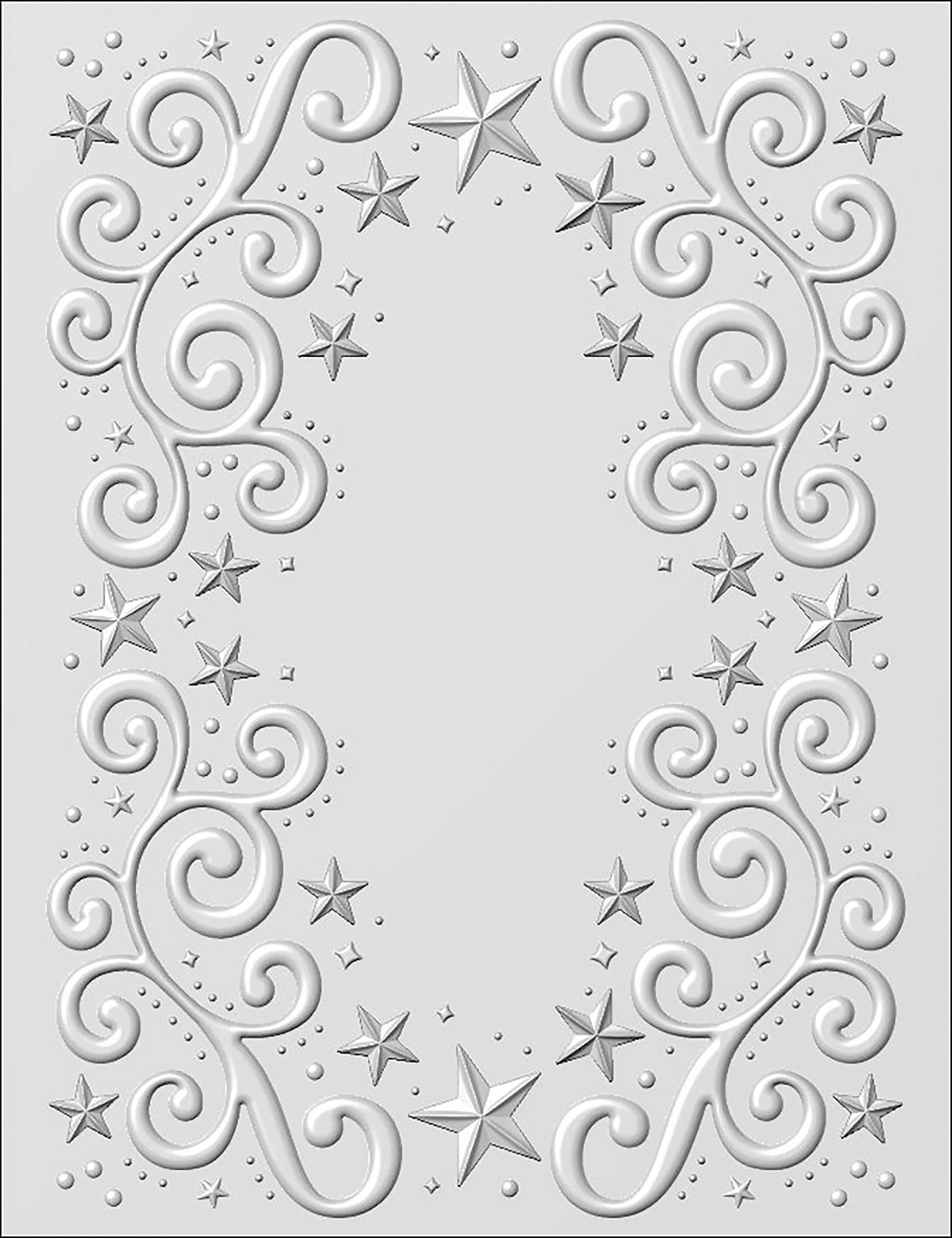 3D Embossing Folder - Twinkle Swirls (Creative Expressions)