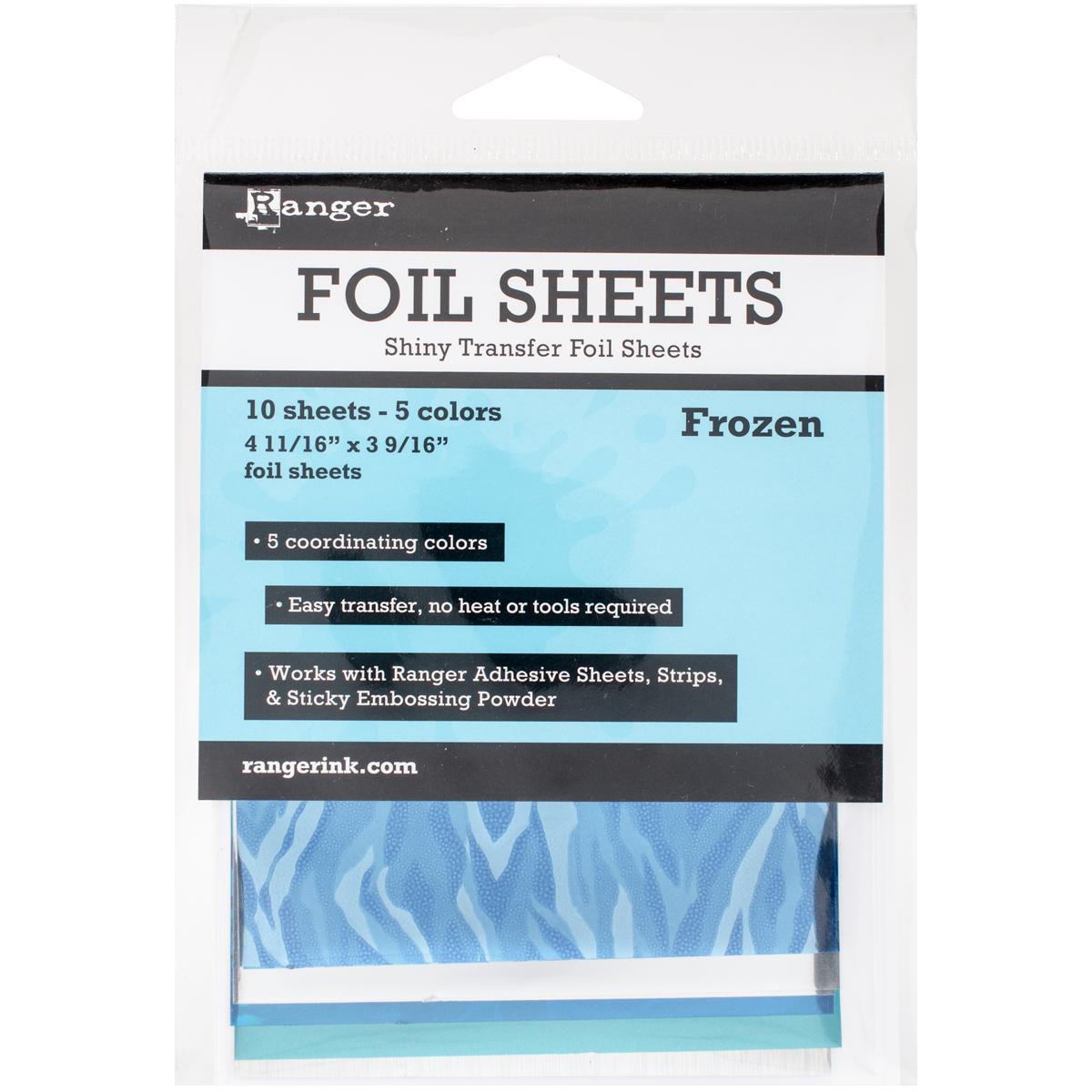 Foil Sheets 4.69X3.56 10/Pkg Frozen