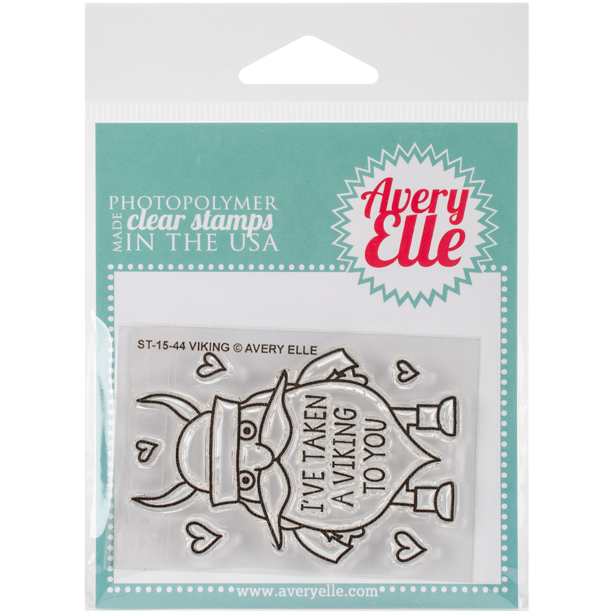 Avery Elle Clear Stamps - Viking