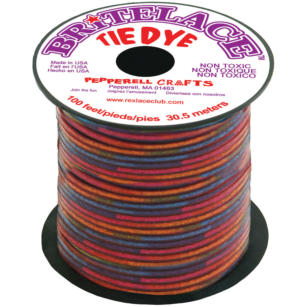 RED TIEDYE-REXLACE SPOOL