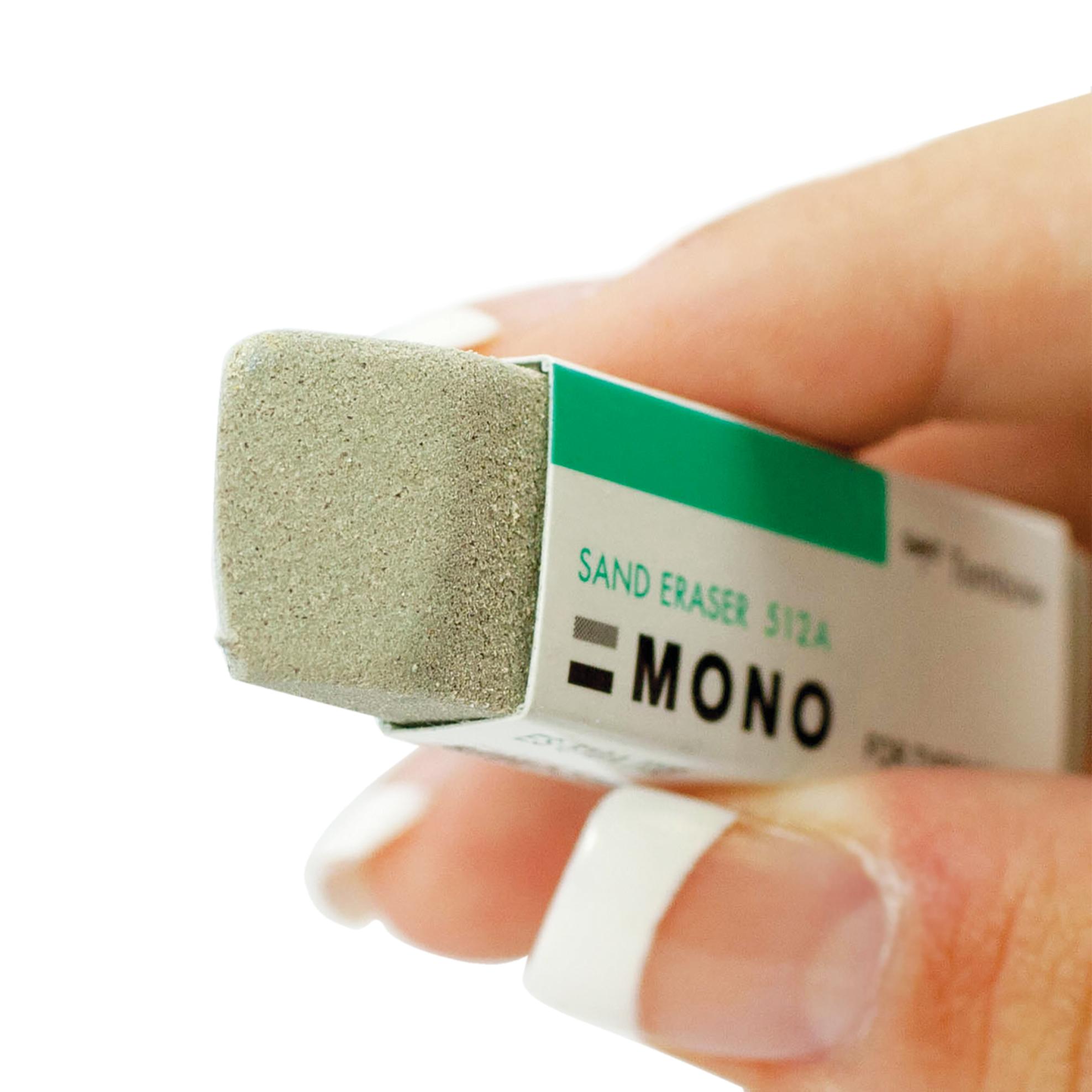 MONO Sand Eraser 2/Pkg-For Ink