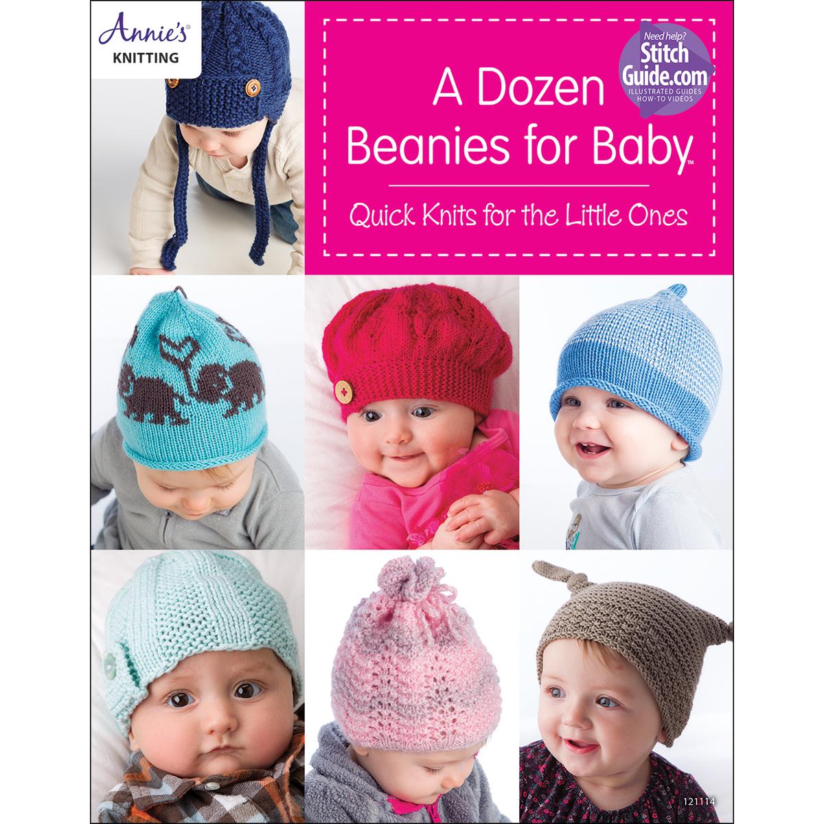 Annie's Books-A Dozen Beanies For Baby