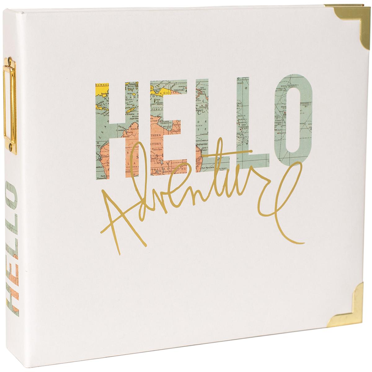 Project Life D-Ring Album 8X8 -Hello