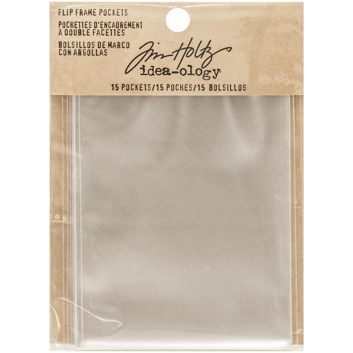 Tim Holtz Flip Frame Pockets
