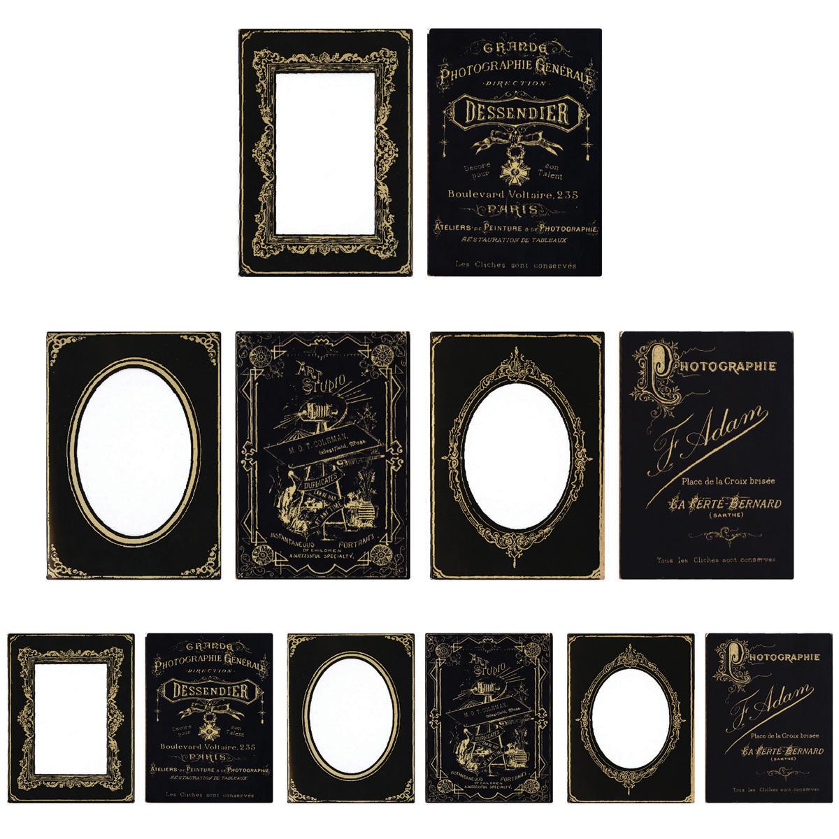 Tim Holtz Cabinet Card Frames