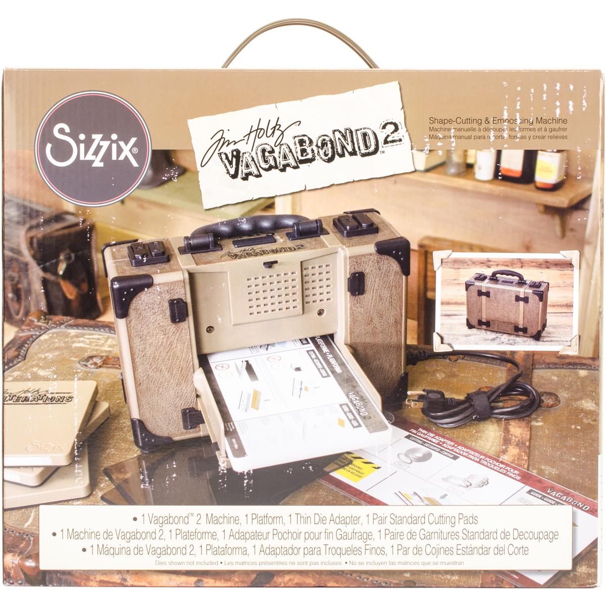 Sizzix Vagabond 2 Machine Inspired By Tim Holtz-US Version
