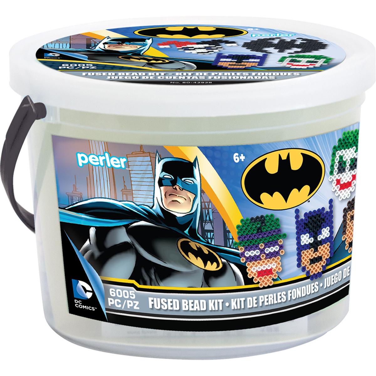 Perler Fused Bead Bucket Kit-Batman