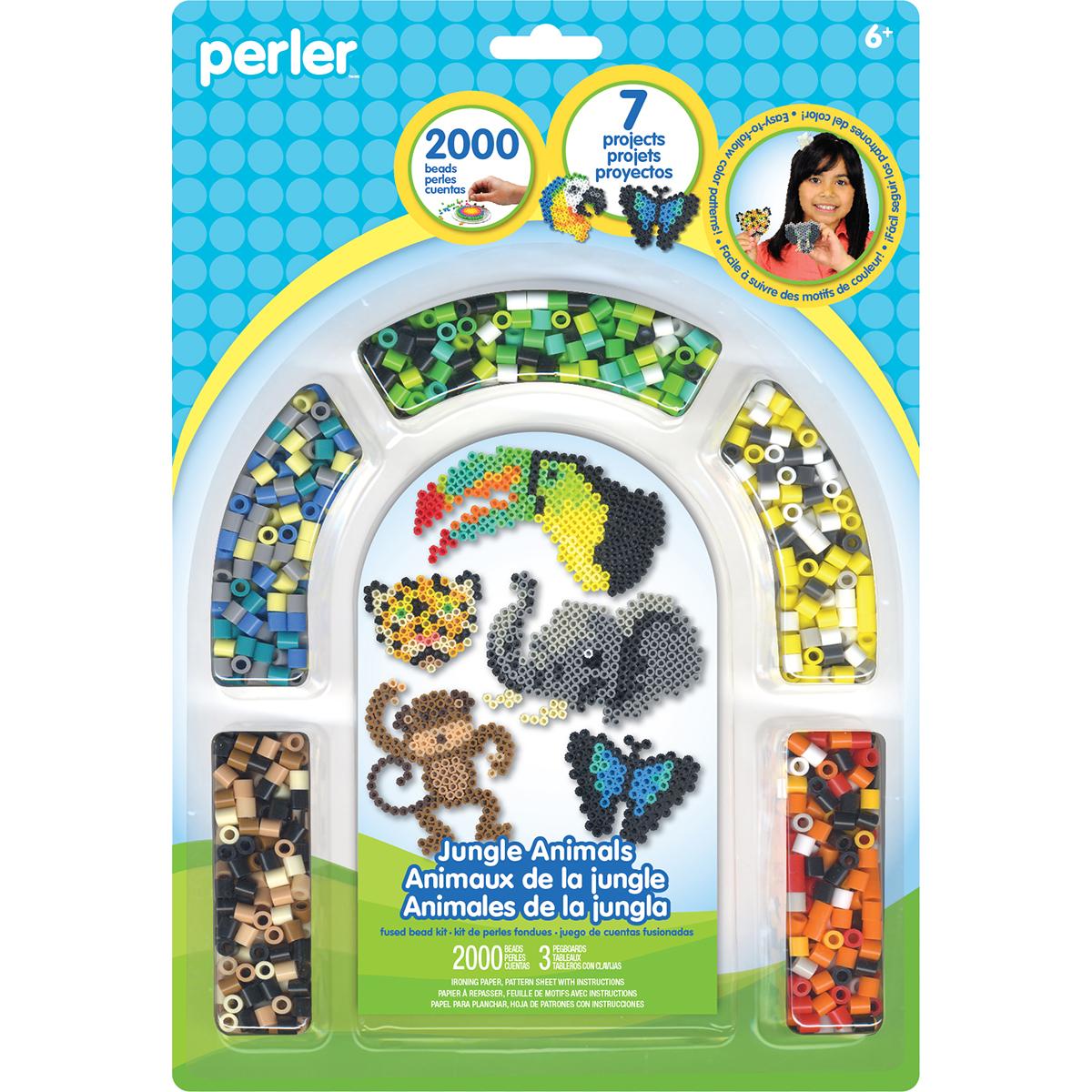 Perler Fused Bead Kit-Jungle