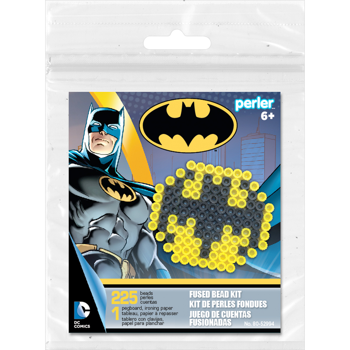 Perler Fused Bead Trial Kit-Batman