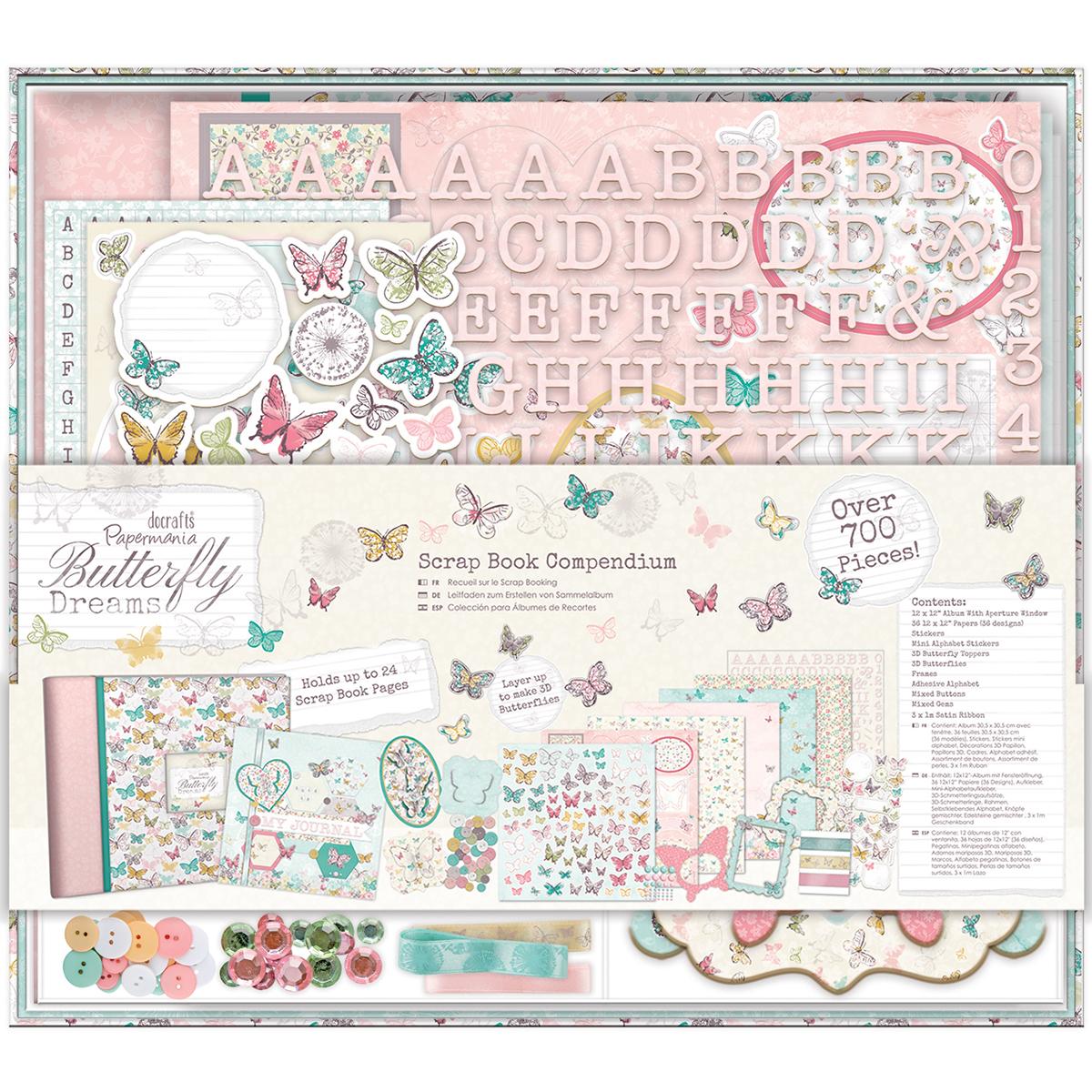 Papermania Butterfly Dreams Compendium Scrapbook