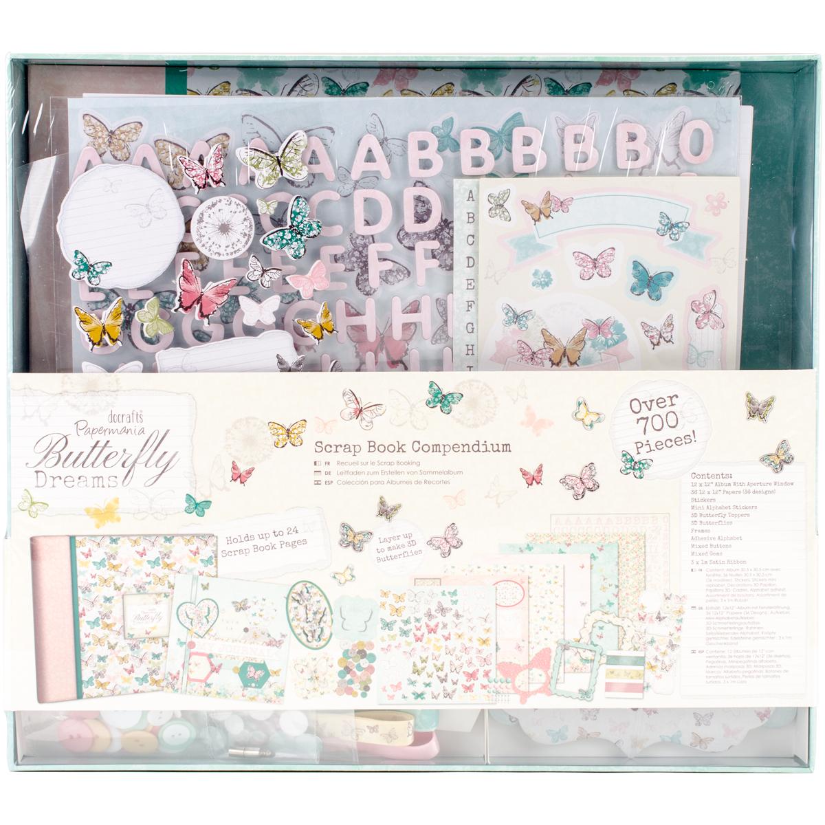 Papermania Butterfly Dreams Compendium-Scrapbook