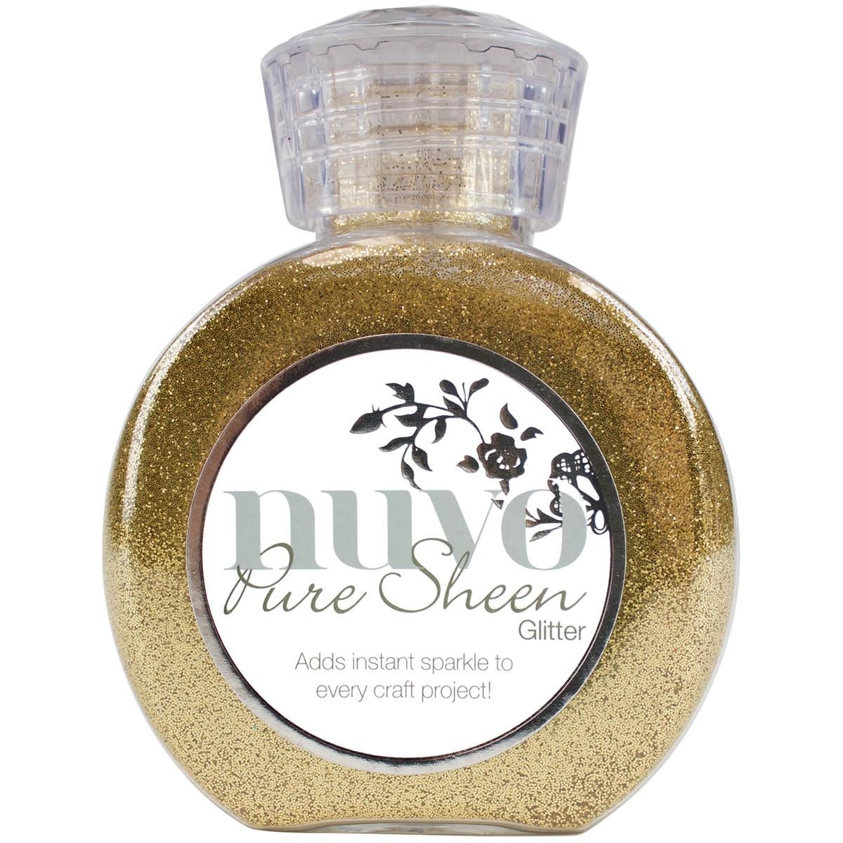 Nuvo Pure Sheen Glitter Light Gold