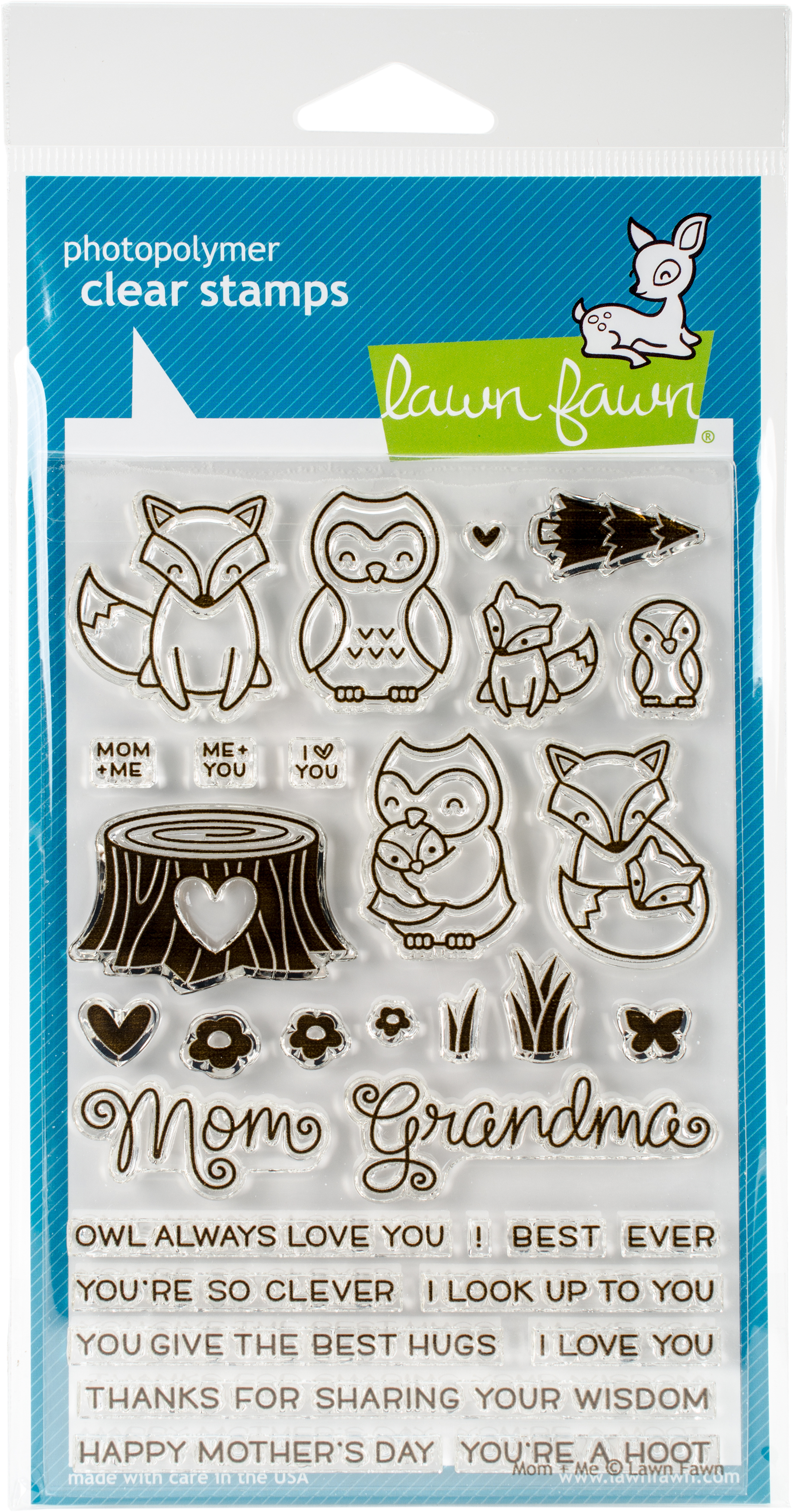 Lawn Fawn Mom & Me Stamp