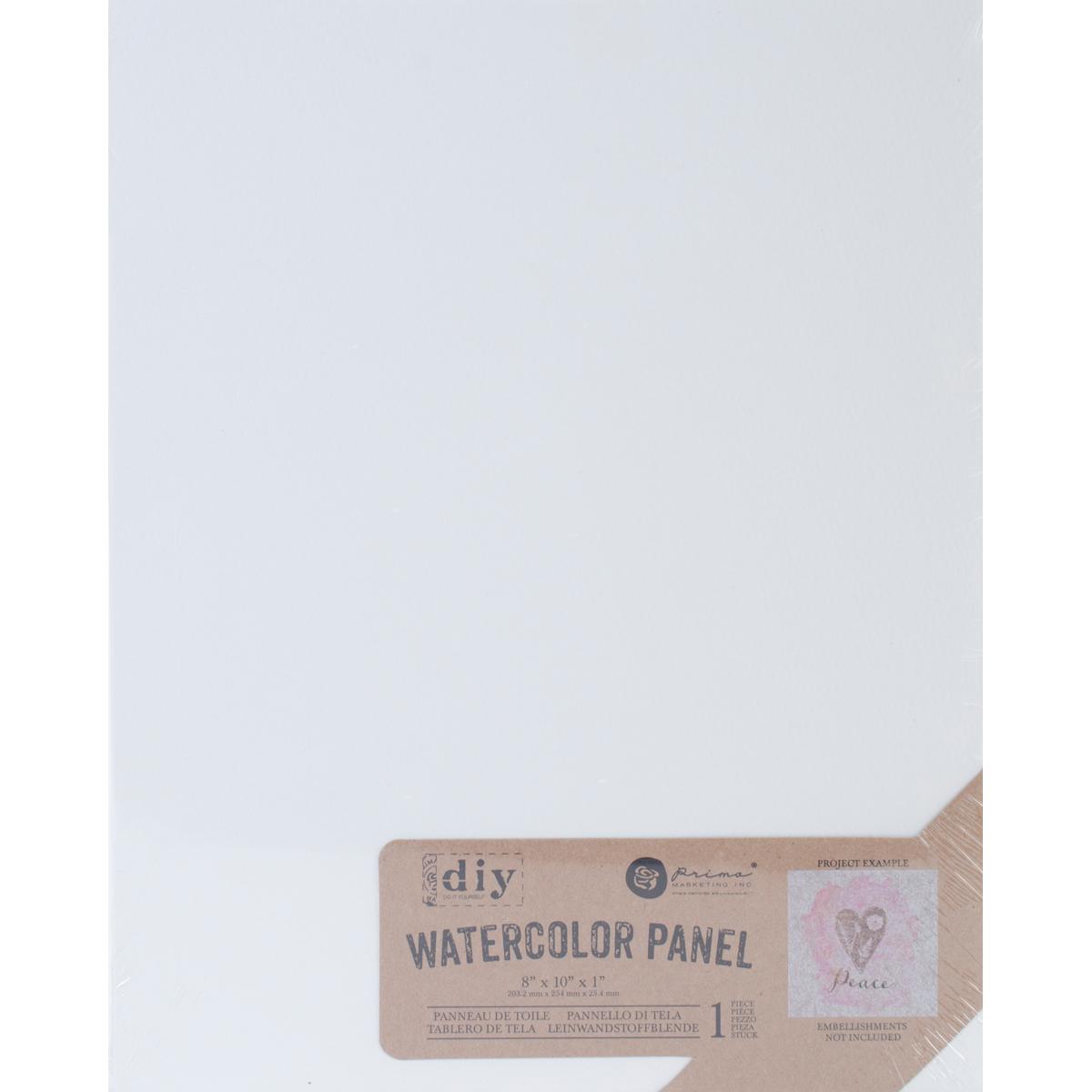 Prima Marketing  DIY Watercolor Canvas Panel-8X10