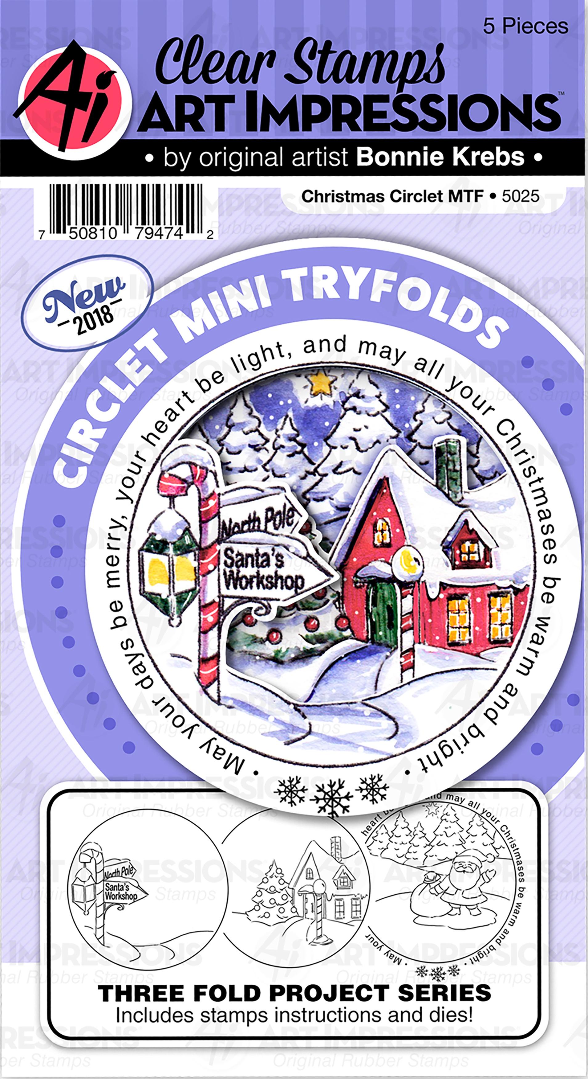 AI - Circlet Mini TF - Christmas Stamp & Die Set