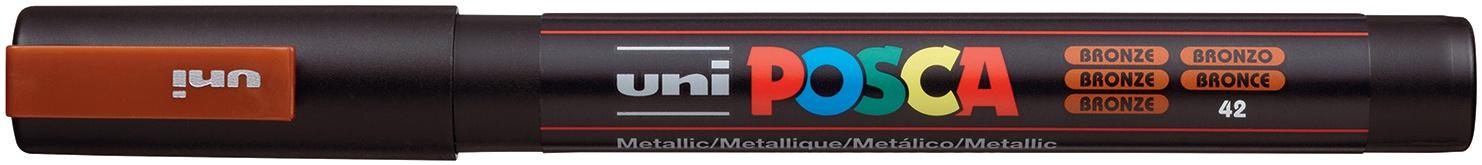 bronze posca paint pen