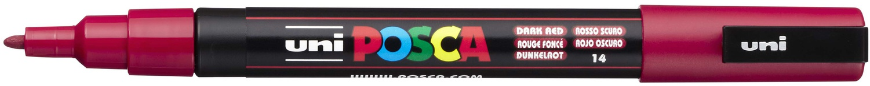 POSCA 3M Fine Bullet Tip Pen-Dark Red