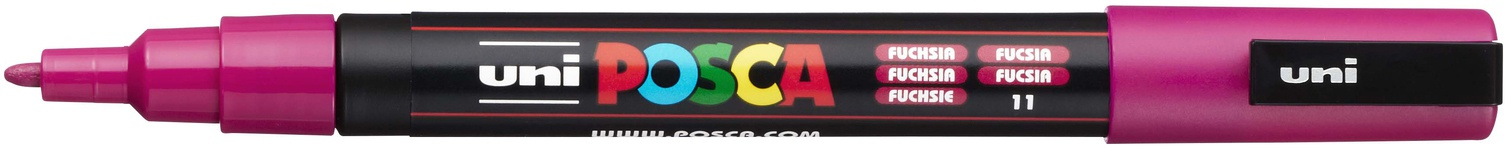 POSCA - 3M Fine Bullet Tip Pen - Fuchsia