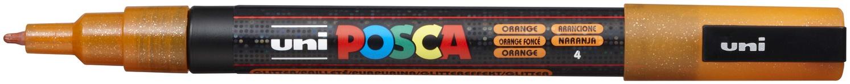 POSCA - 3M Fine Bullet Tip Pen - Glitter Orange