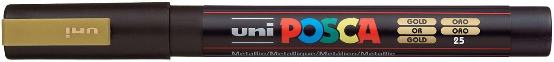 POSCA 3M Fine Bullet Tip Pen-Gold