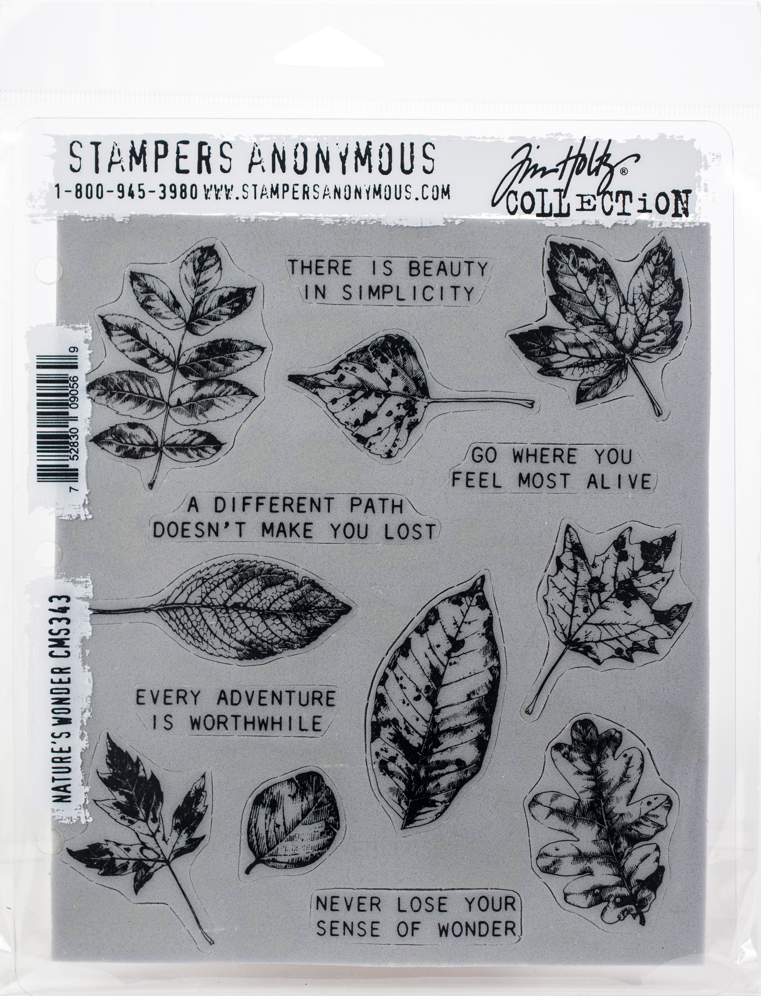 SA - TH Nature's Wonders Cling Stamp