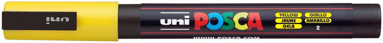 POSCA - 3M Fine Bullet Tip Pen - Yellow