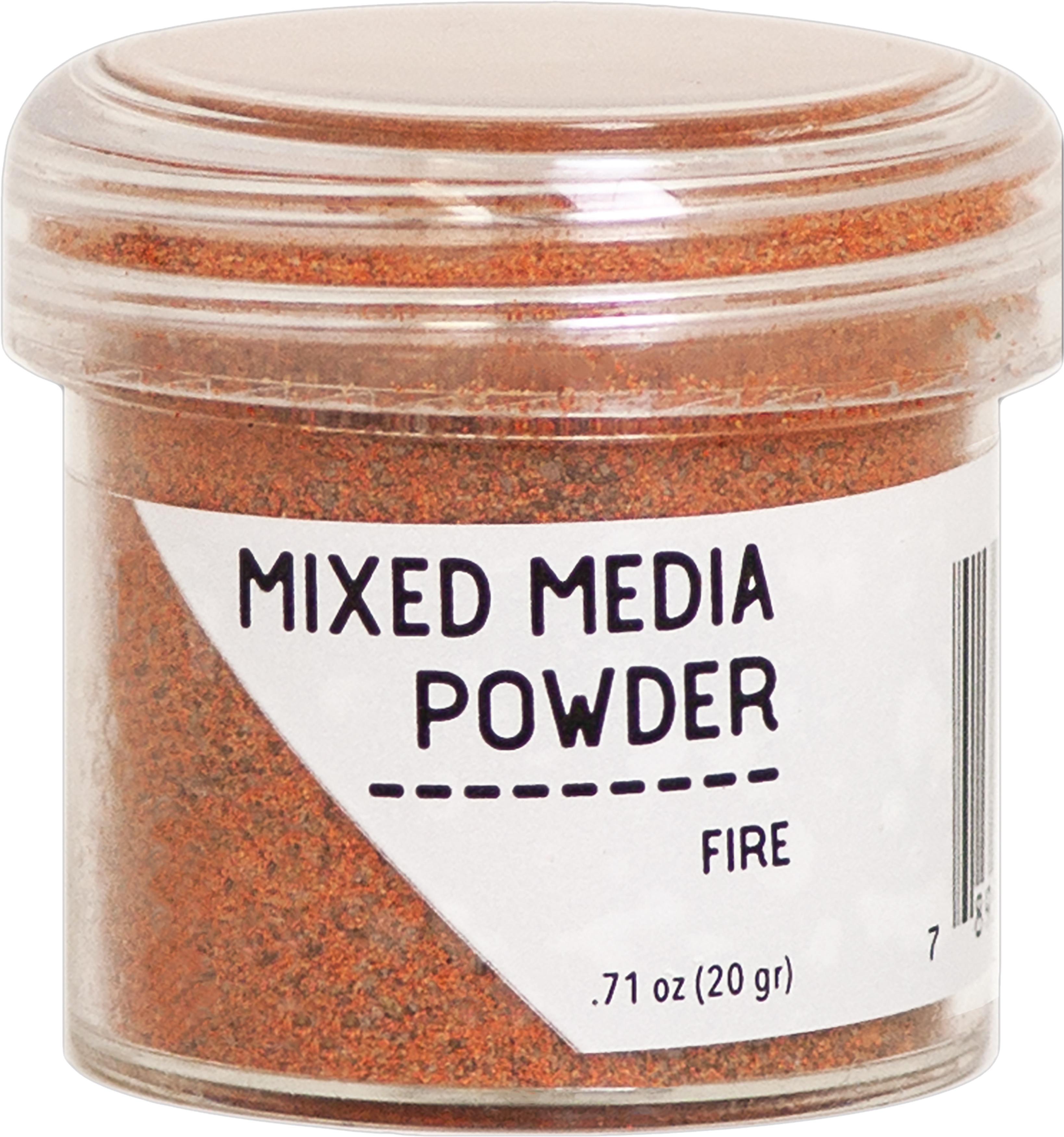 FIRE      -MIXED MEDIA POWDER