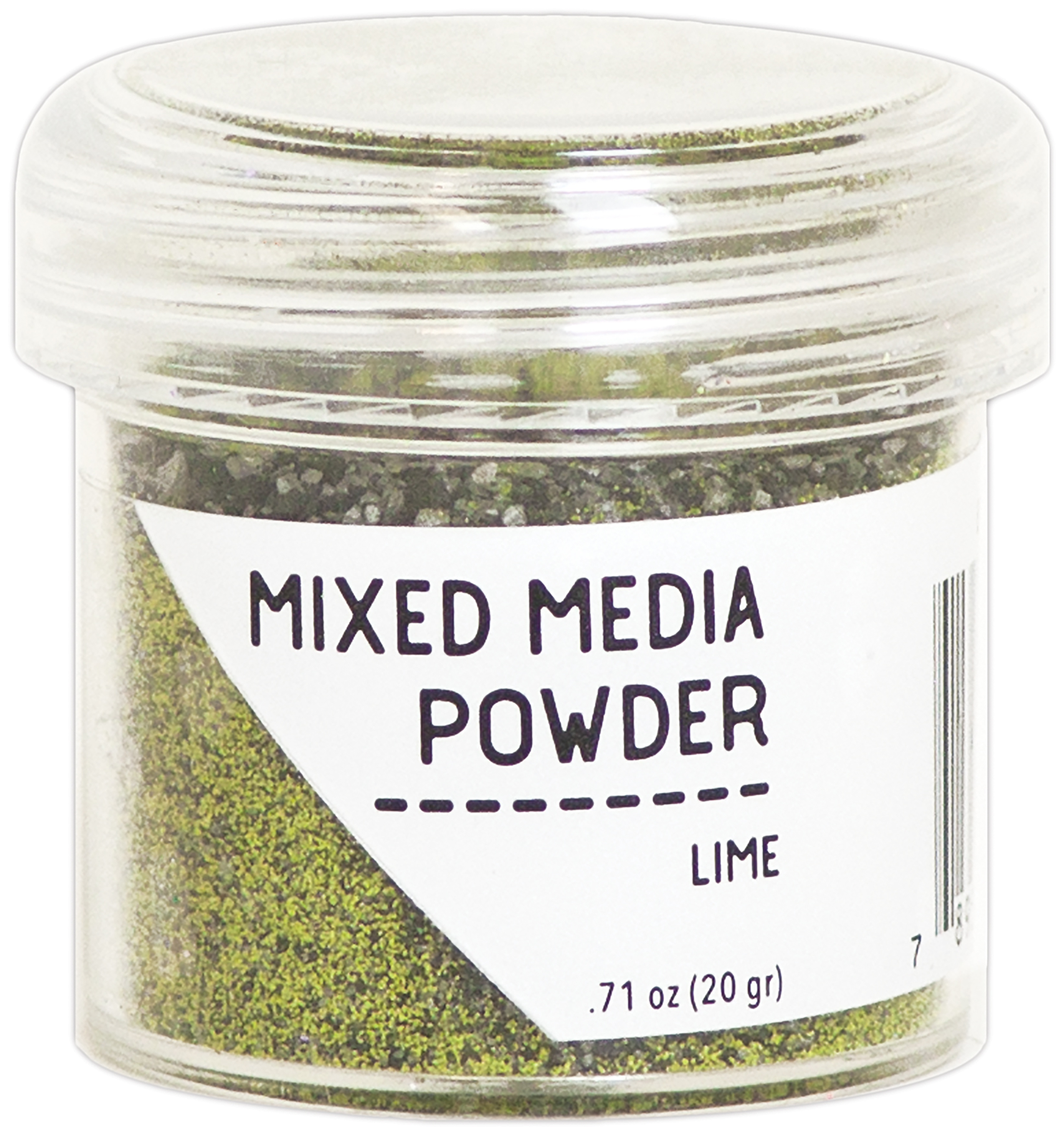 MIXED MEDIA POWDER - LIME