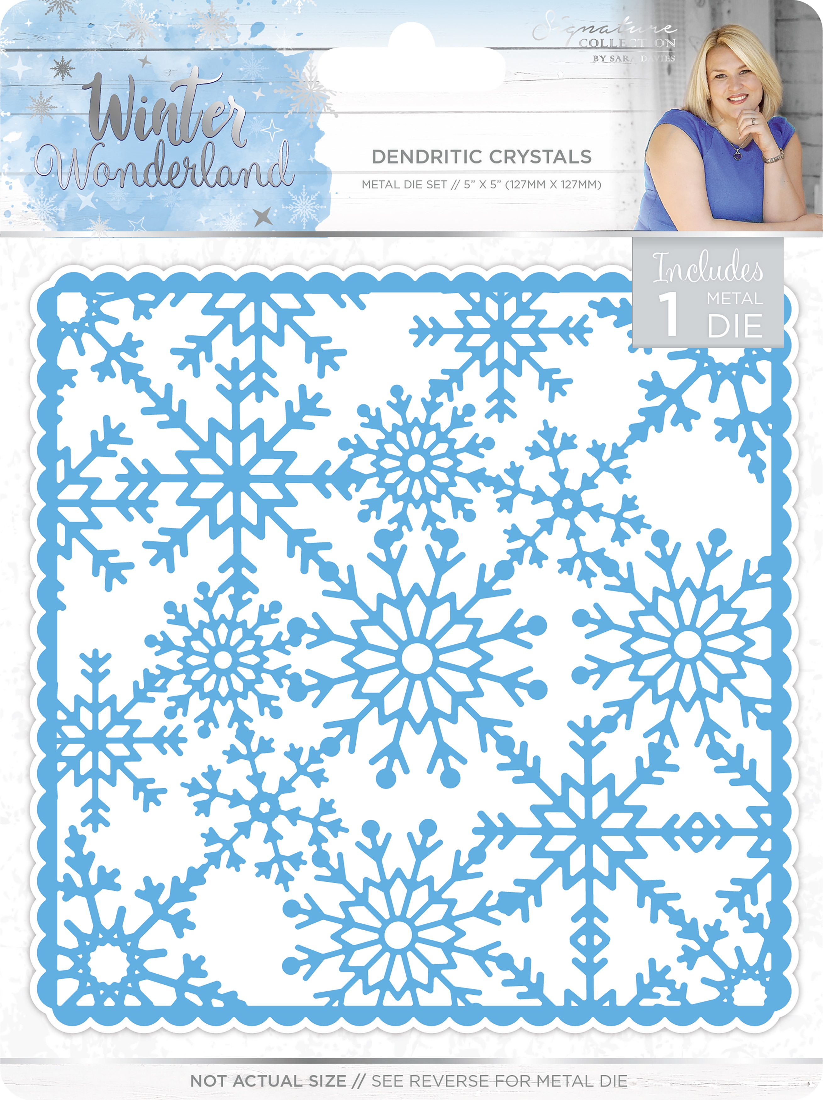 ^Winter Wonderland Die - Dendritic Crystals (CLEARANCE)