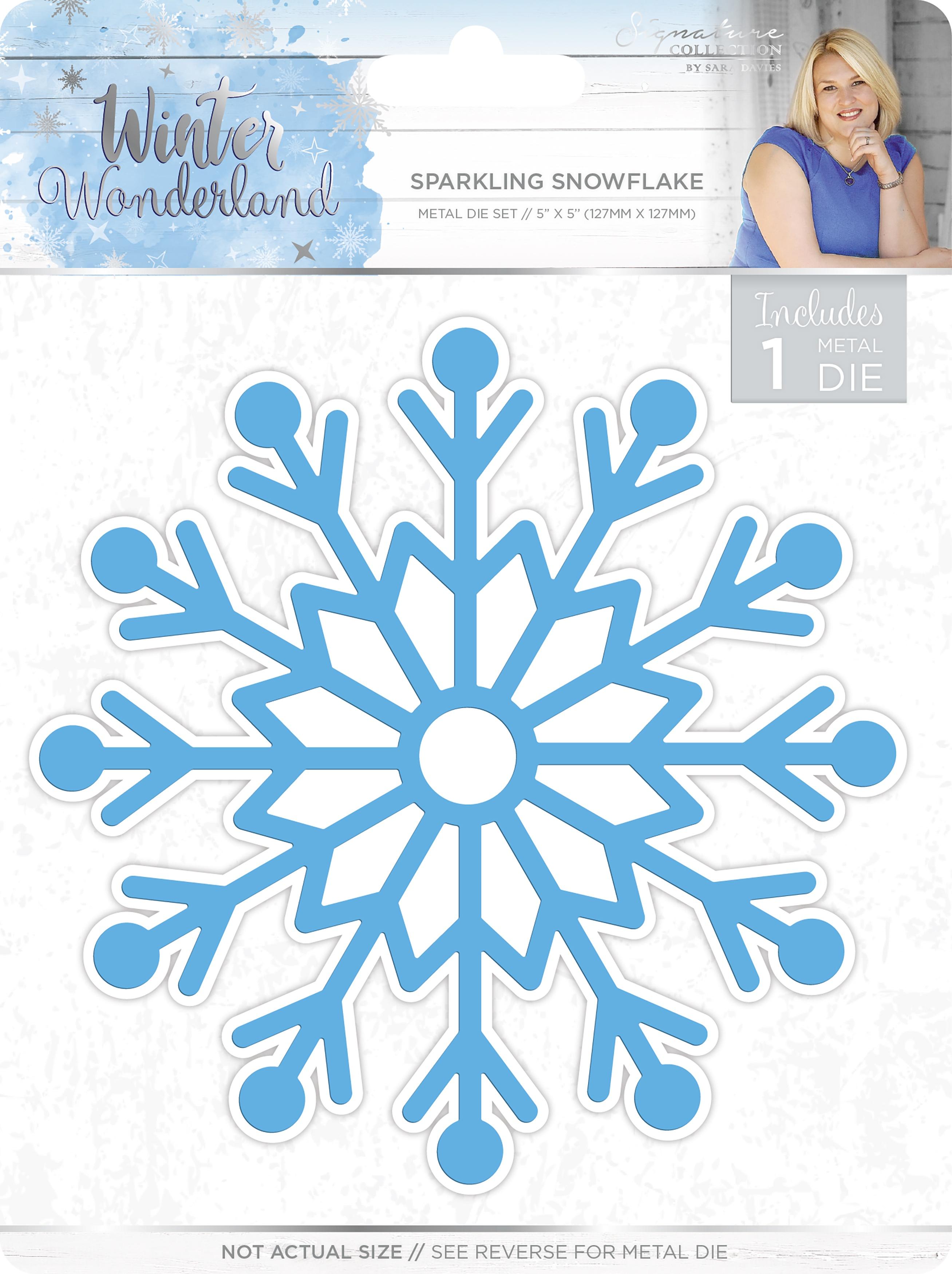 Winter Wonderland Die - Sparkling Snowflake (Crafter's Companion)