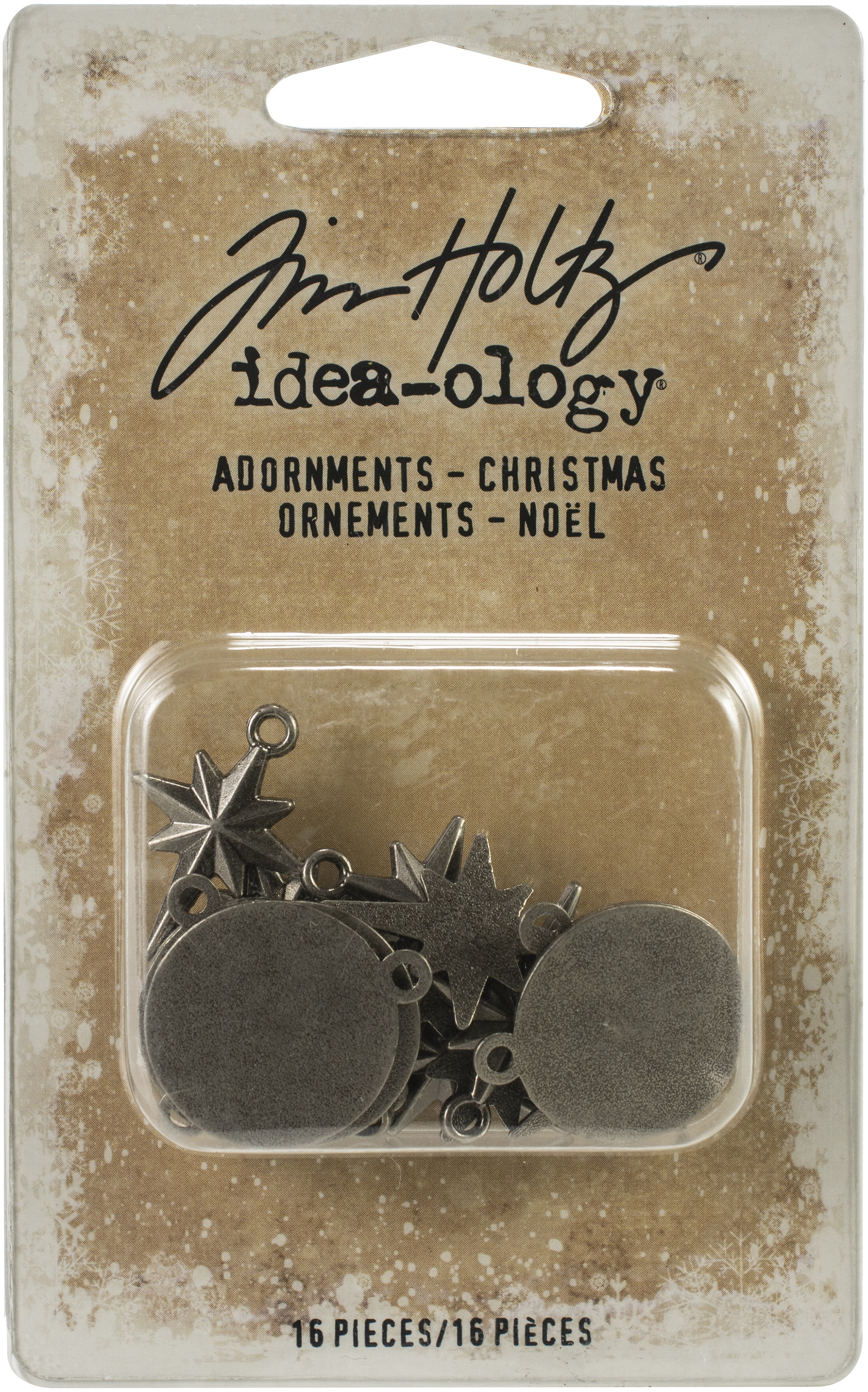 EMB - ADORNMENTS CHRISTMAS