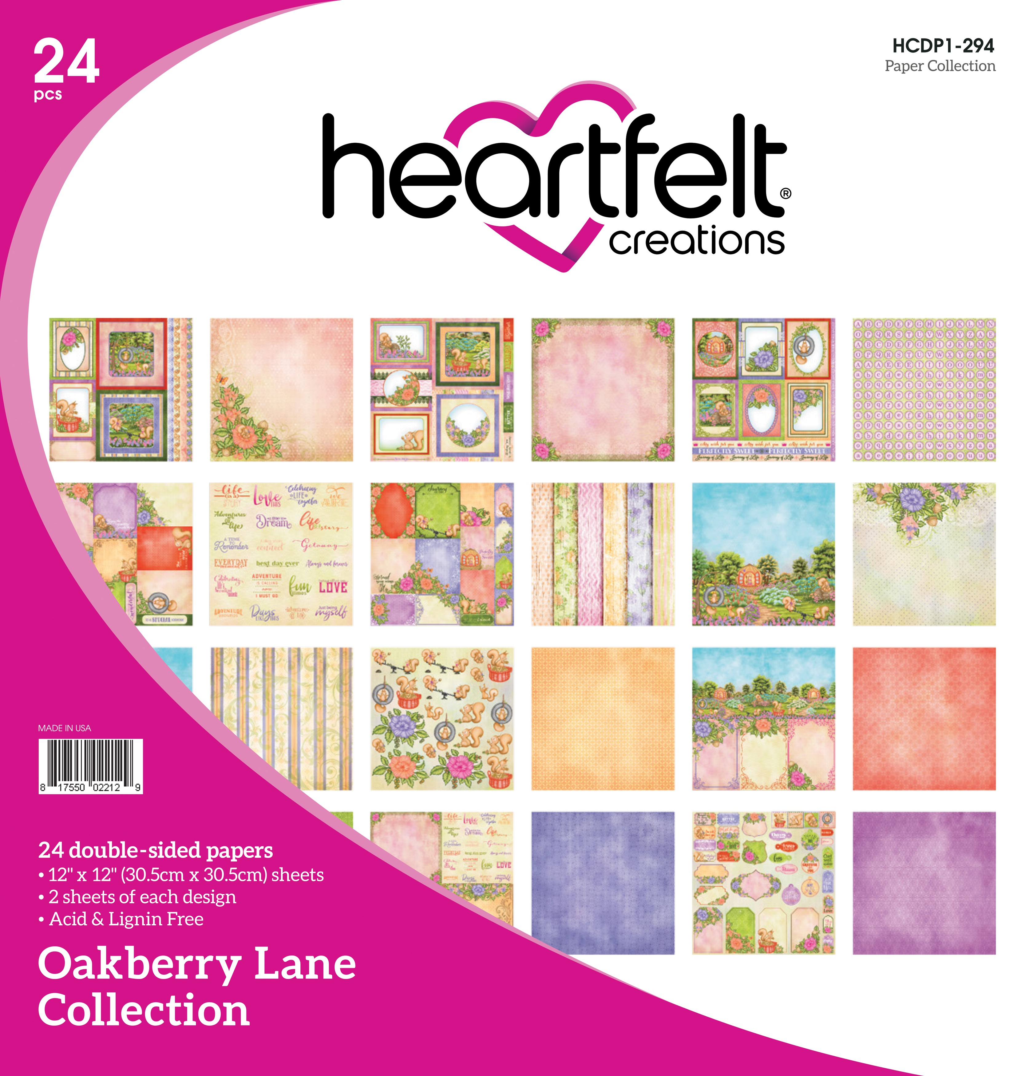 Oakberry Lane Collection Paper Pad