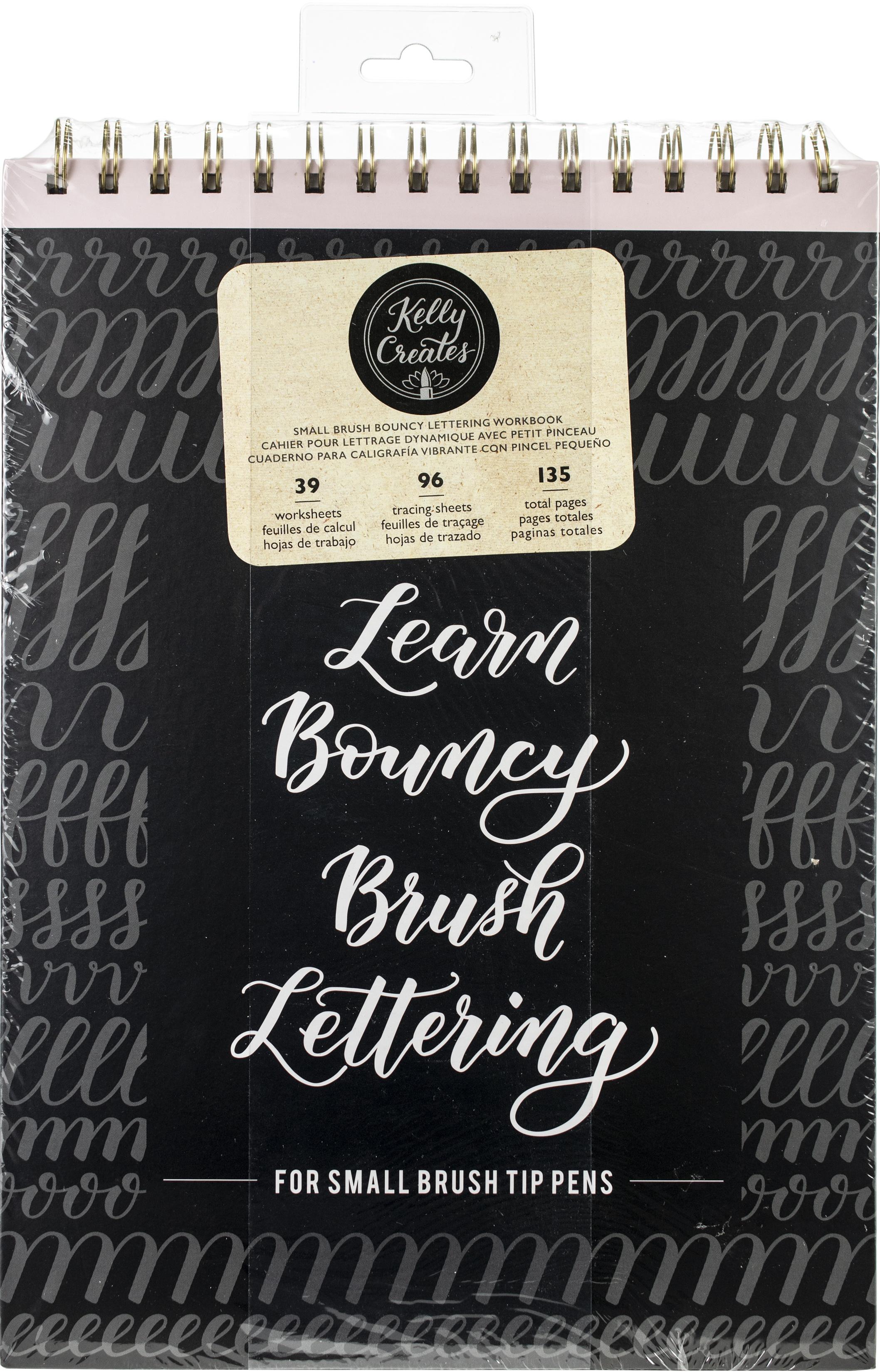 Kelly Creates Small Brush Workbook 8.5X12.3 135/Pkg-Bouncy
