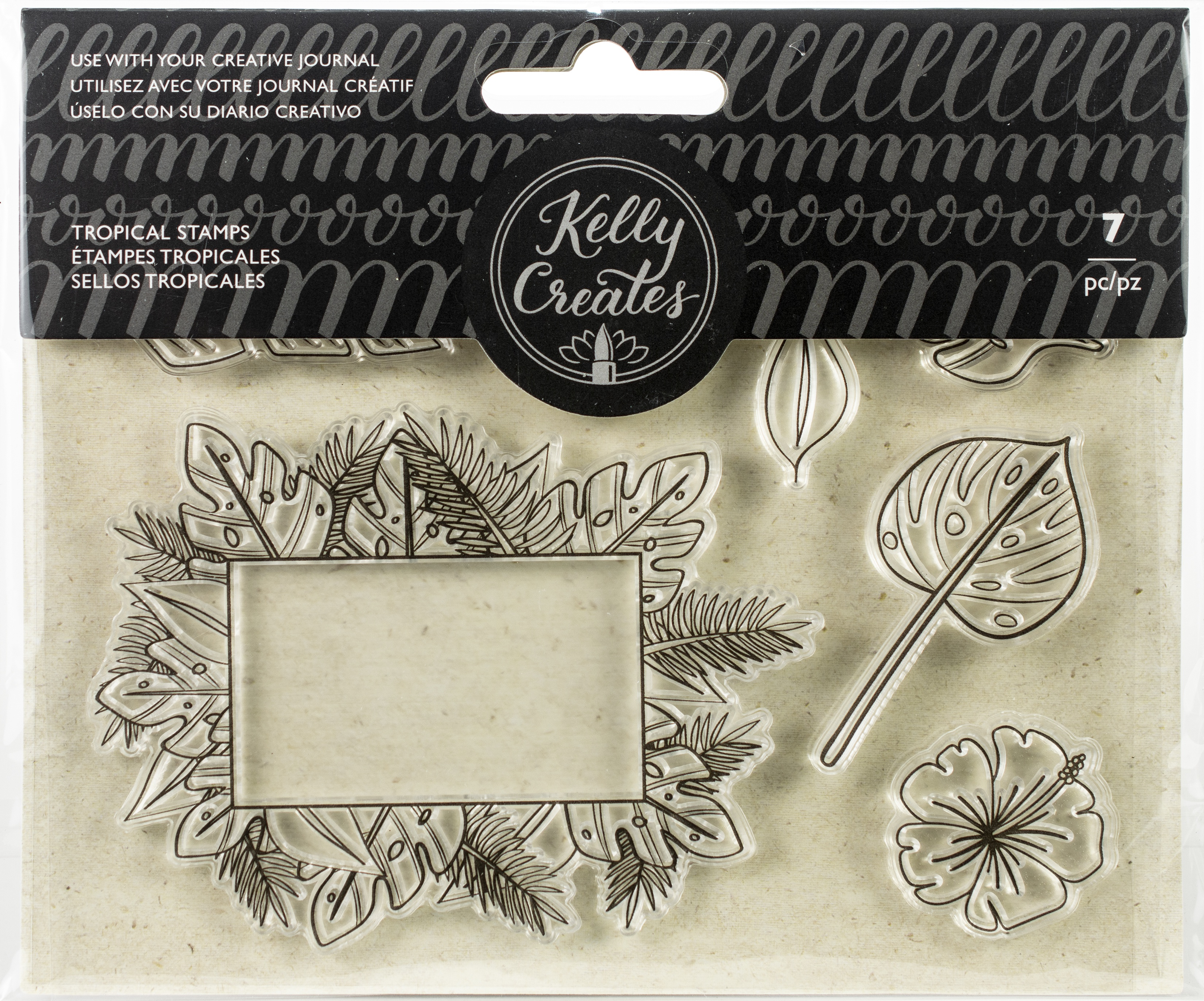 TROPICAL  -KELLY CREATES STAMPS