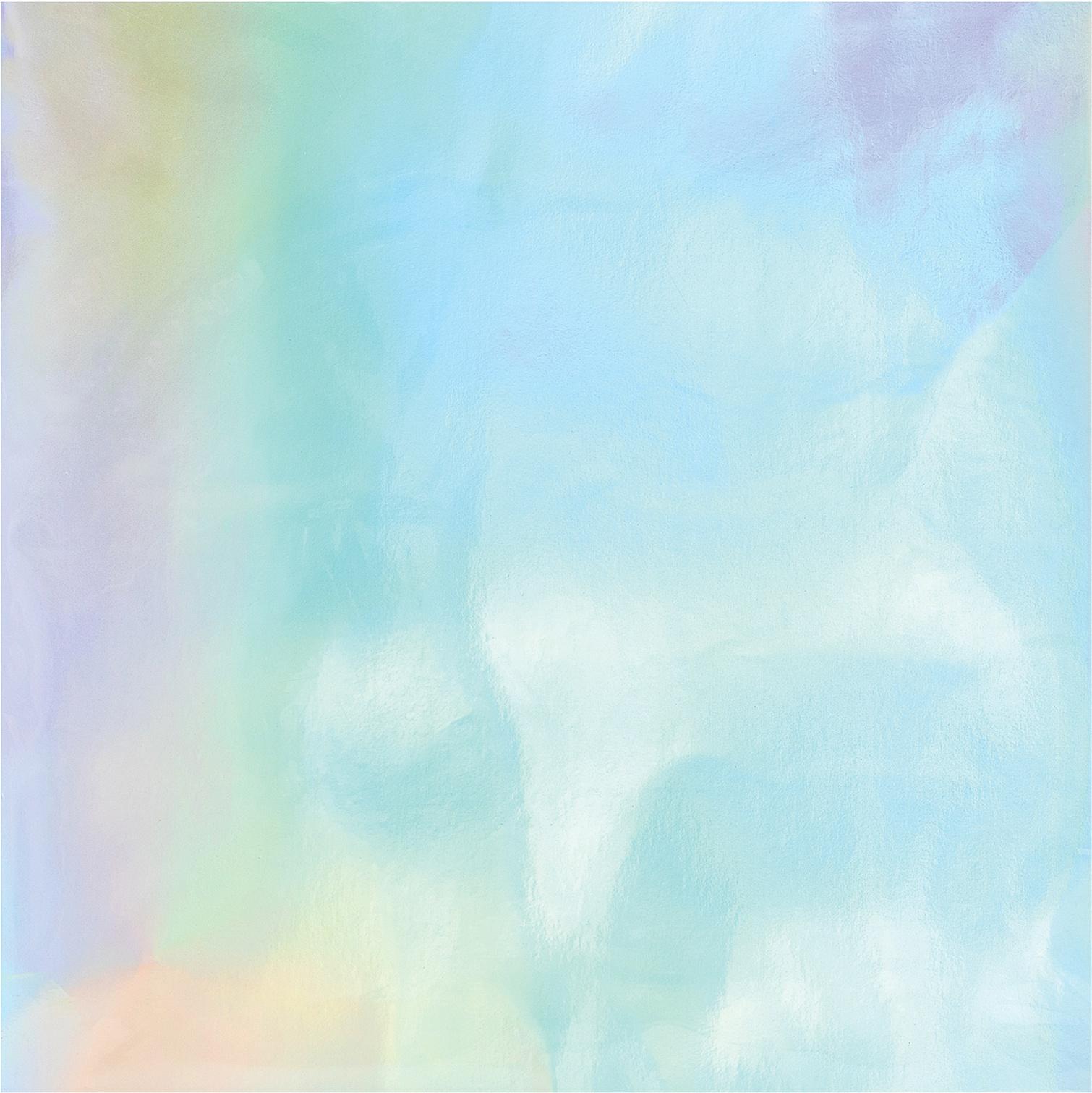 Rainbow Holographic Foil