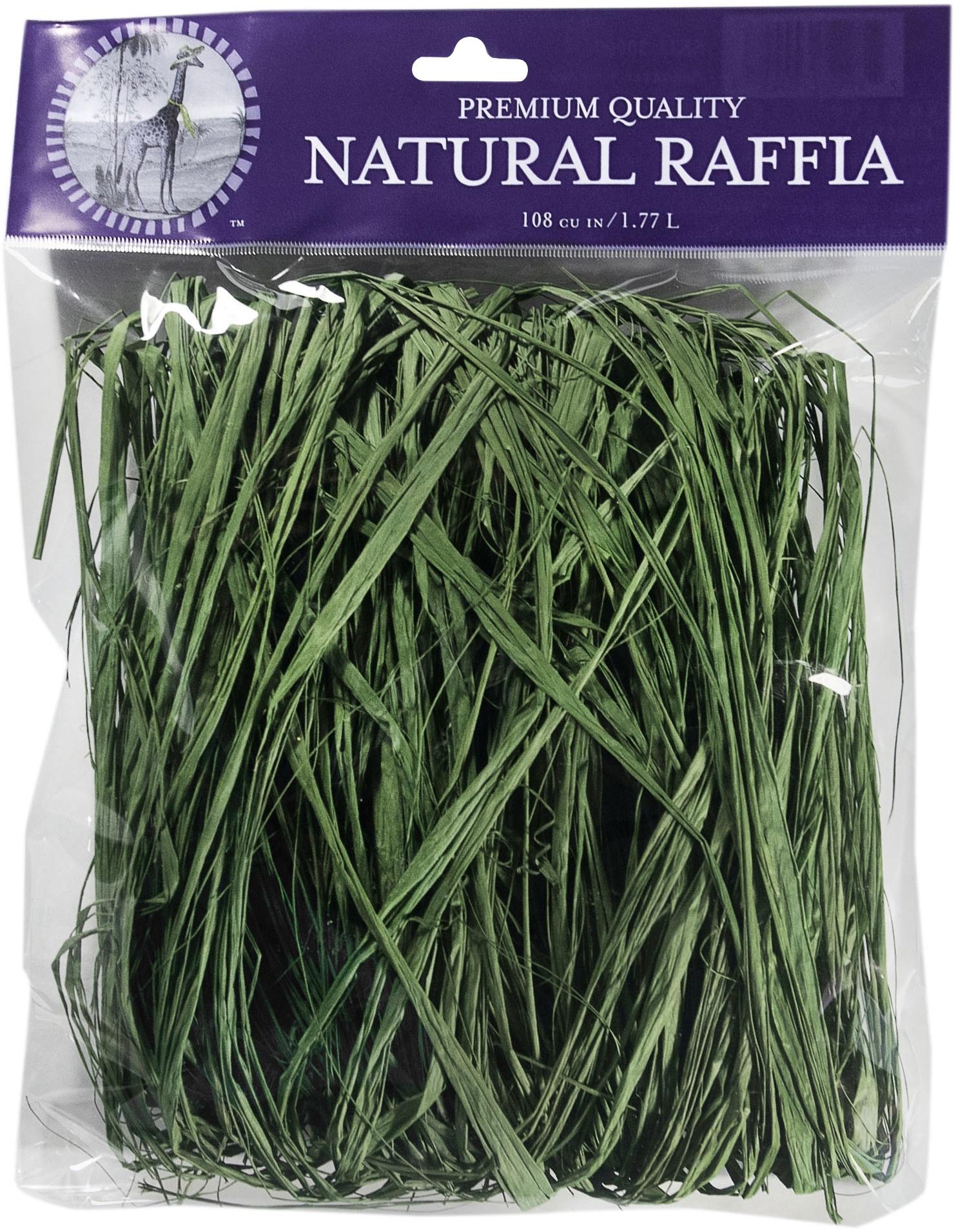 Super Moss Raffia 2oz-Grass Green