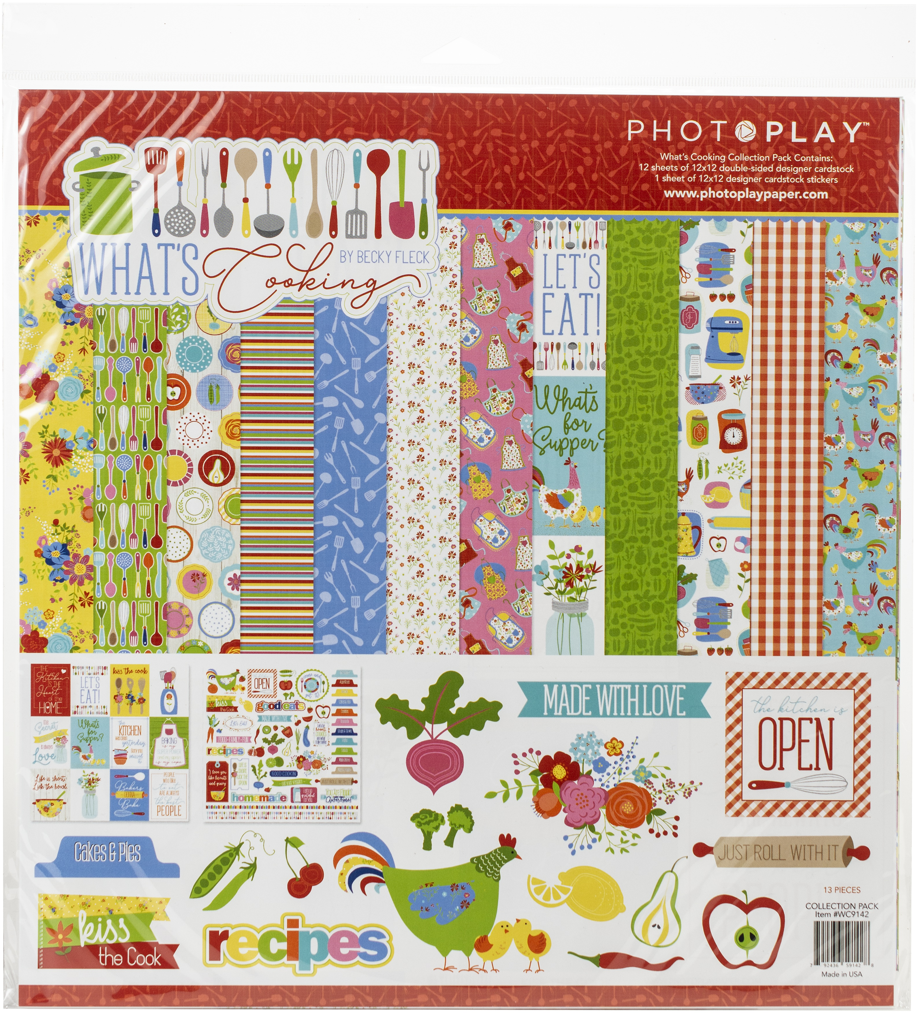 PhotoPlay Collection Pack 12X12-What's Cooking