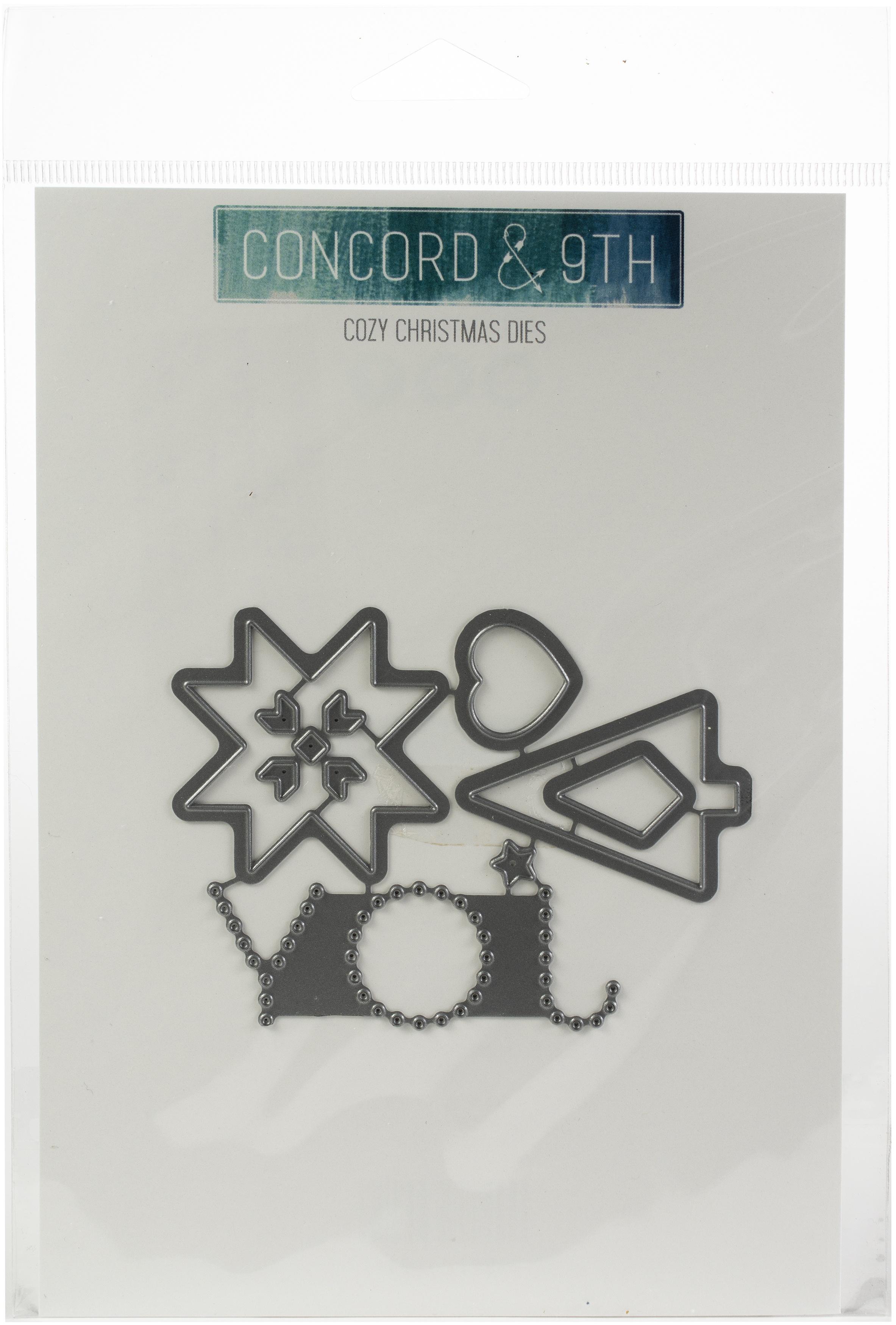 Concord & 9th - Cozy Christmas Die