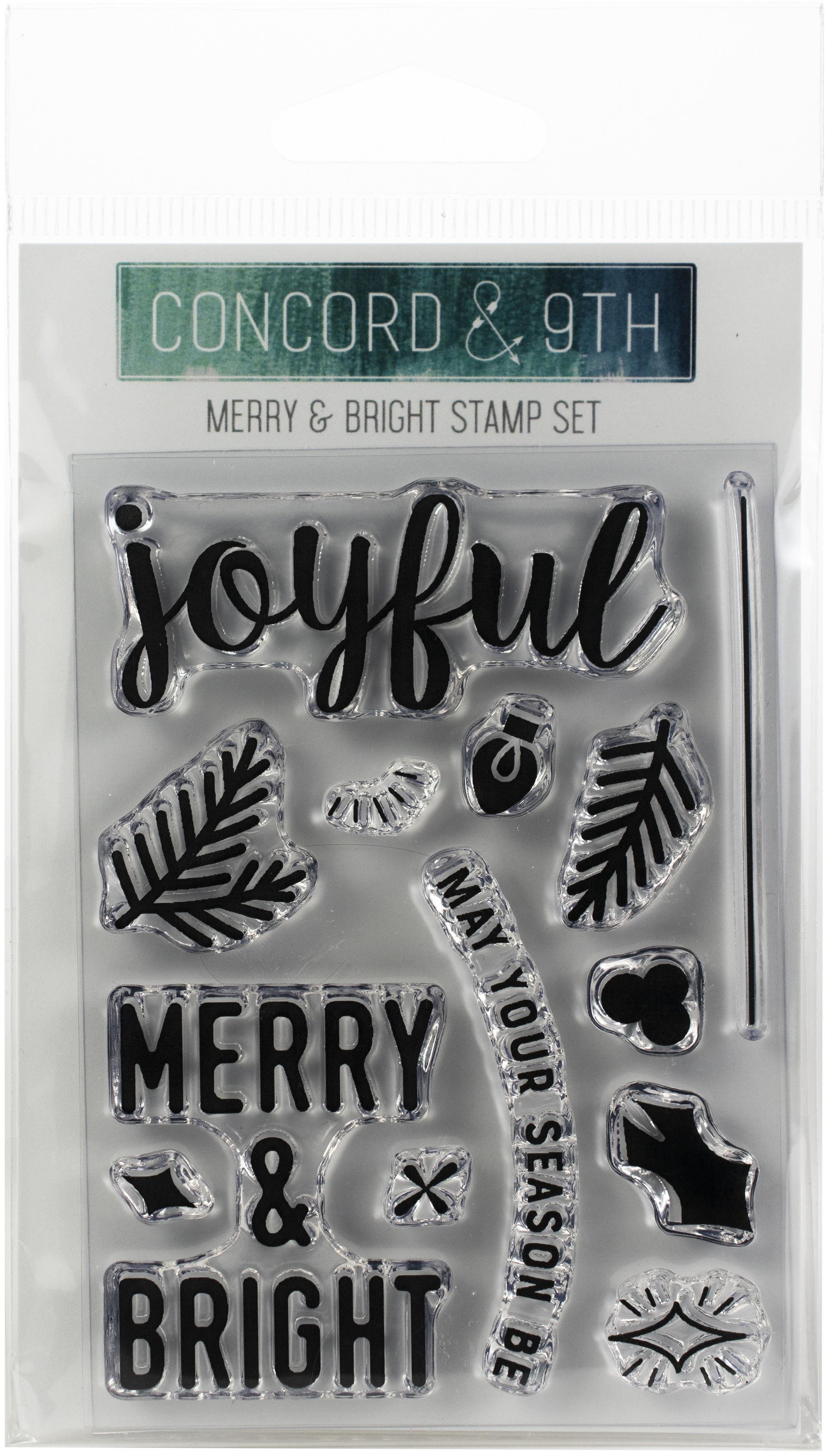 Merry & Bright Stamp
