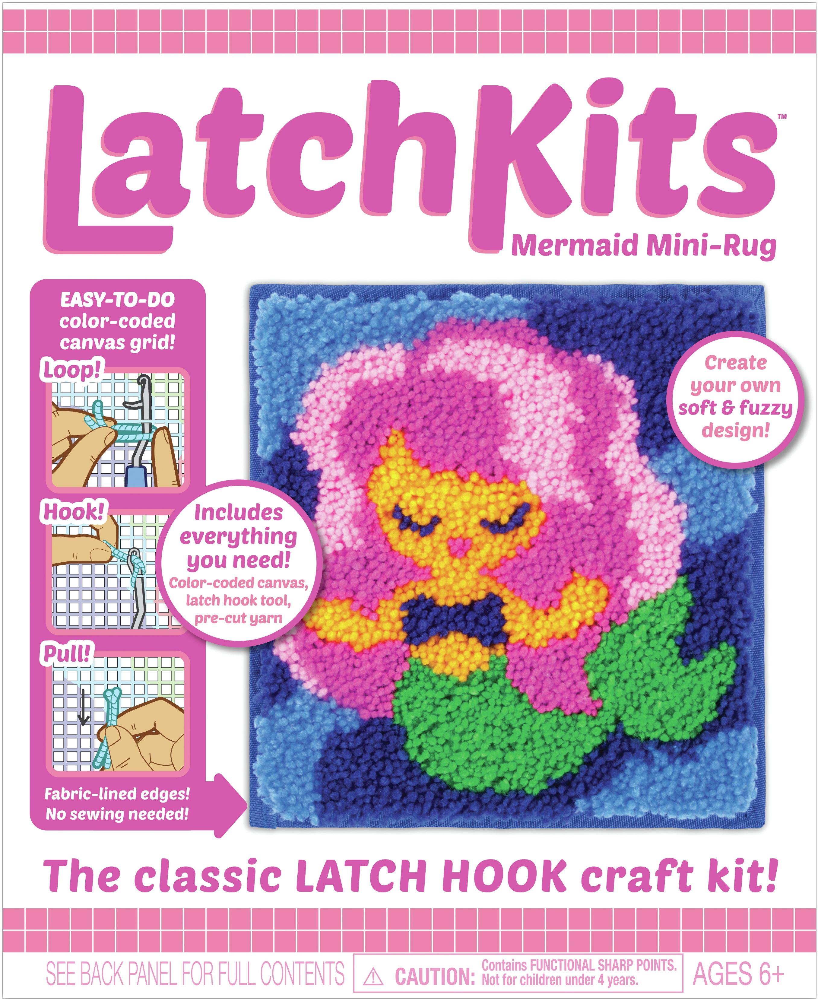 Latch Kit Mini Rug-Mermaid