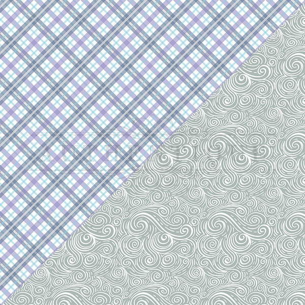 Frosted Double-Sided Cardstock 12X12-#3 Plaid