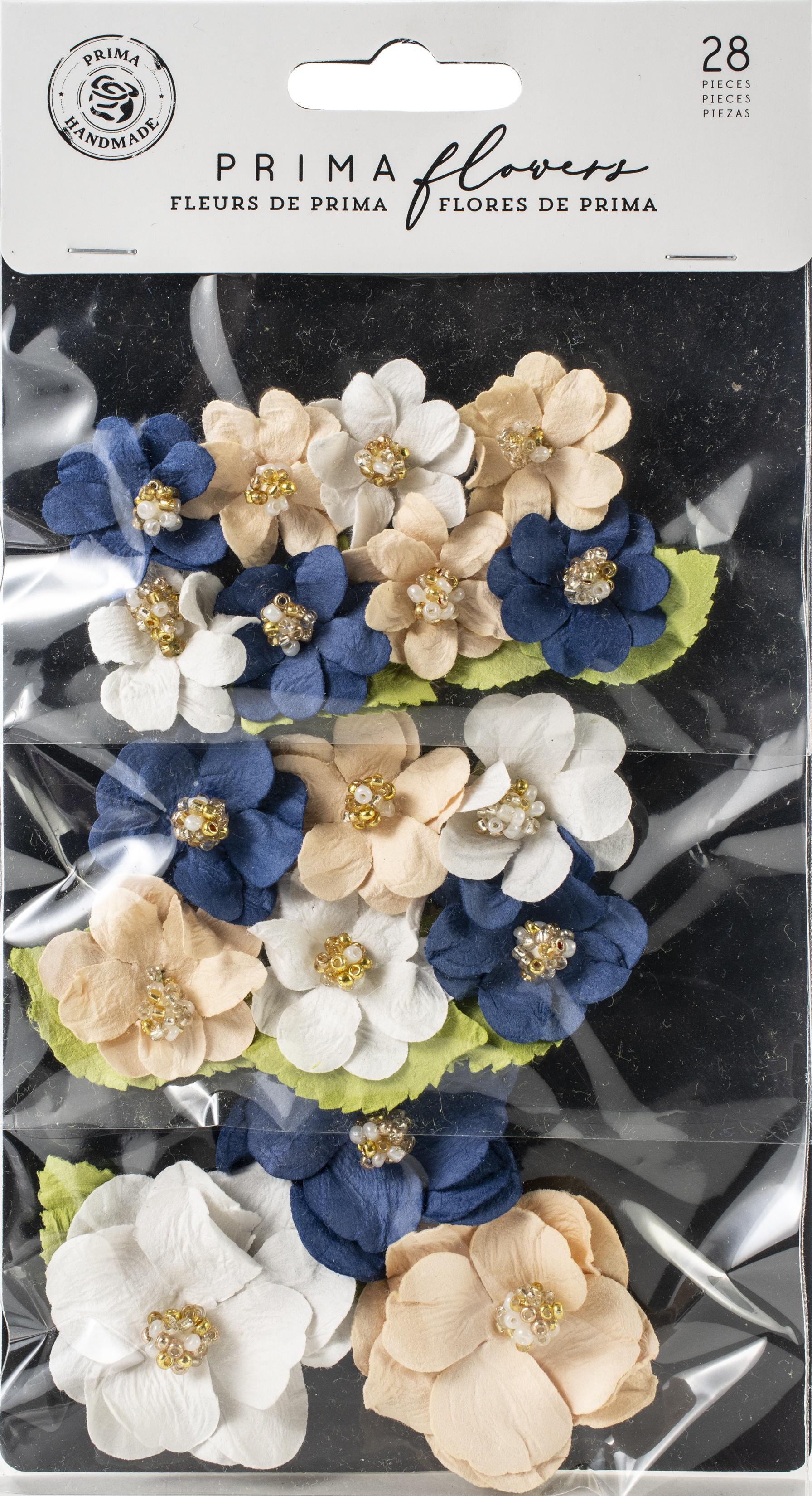 GEORGIA BLUE PAPER FLOWERS