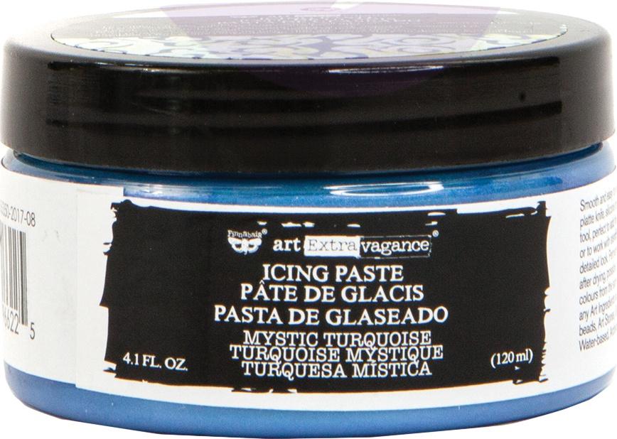 Finnabair Art Extravagance Icing Paste 120ml Jar-Mystic Turquoise