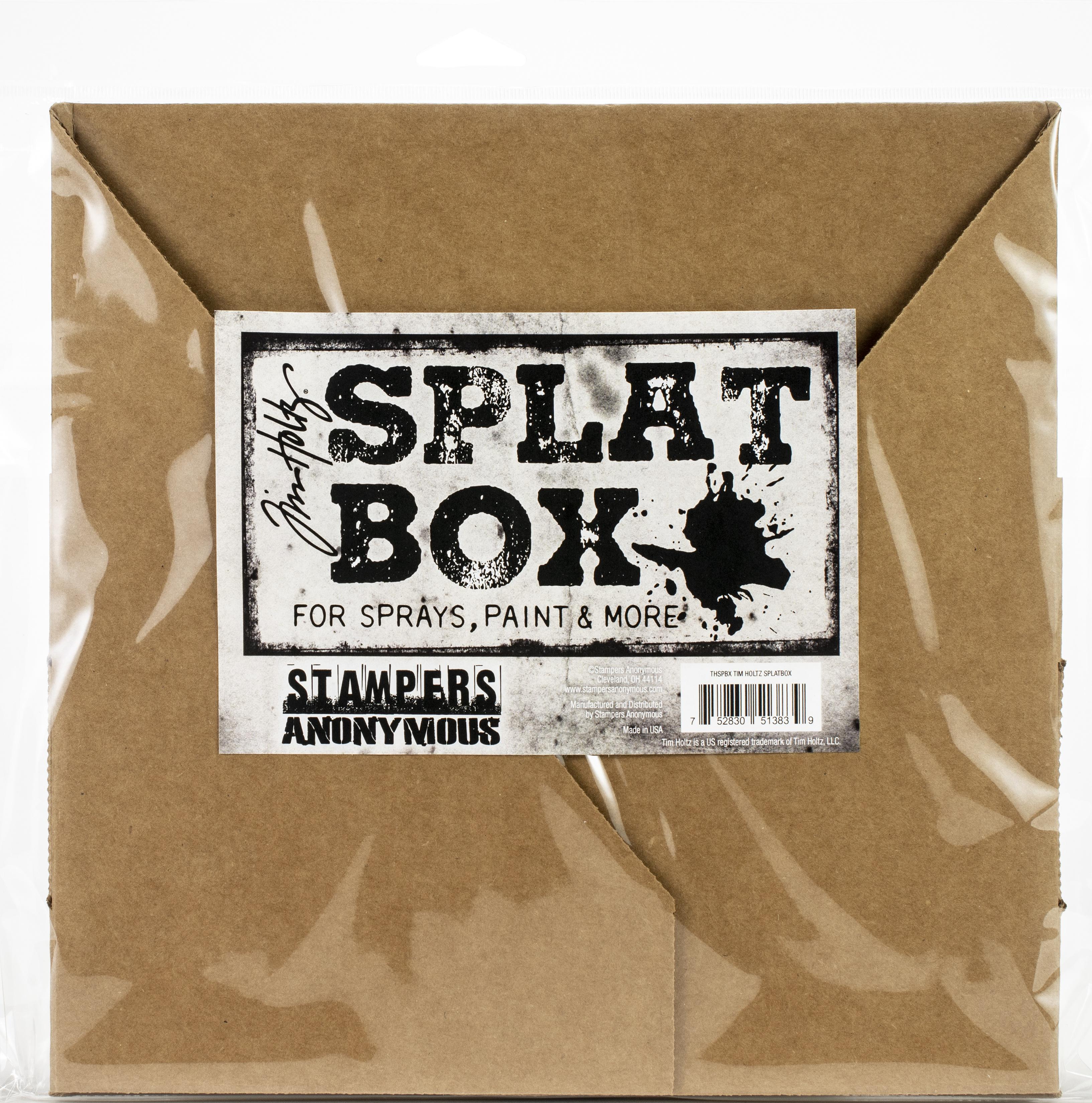 Tim Holtz Splat box-