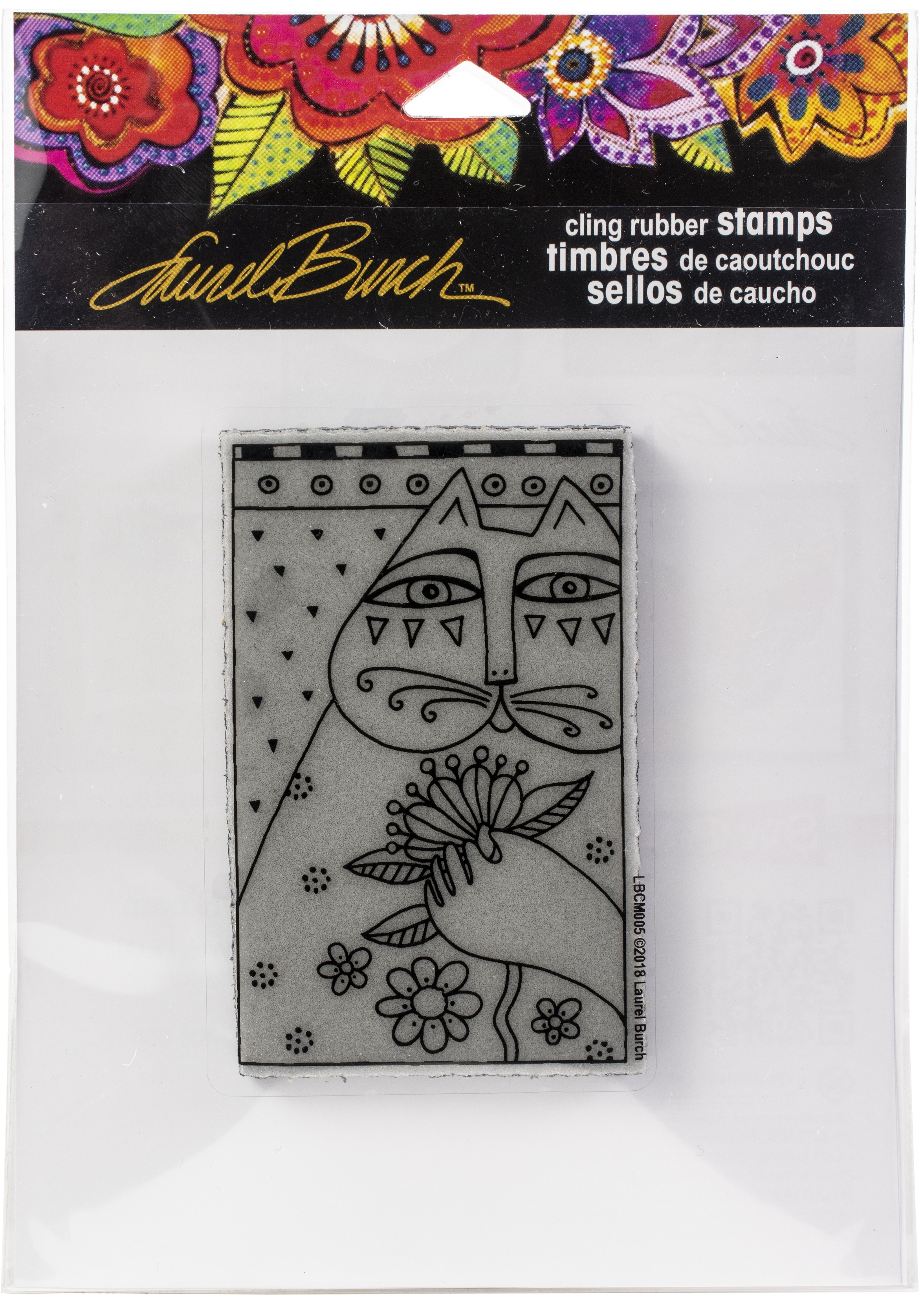 Stampendous - Feline Sentiment Cling Stamp