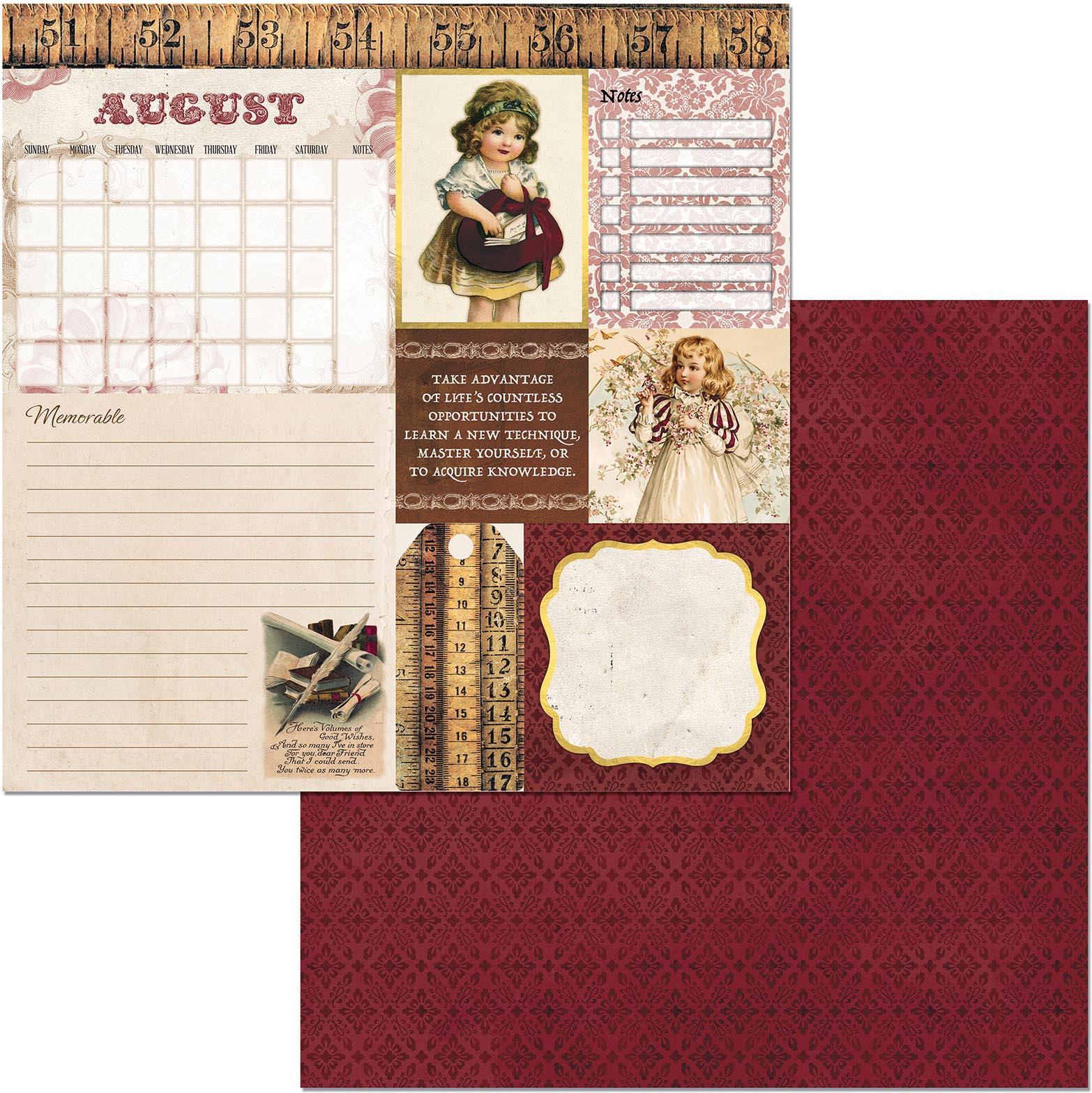 Banner Year August
